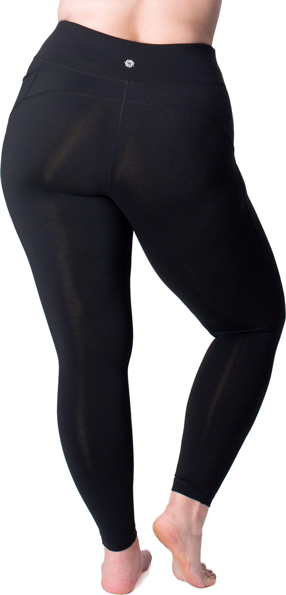 d6e149042 Rainbeau Curves Curves Plus Size Premier Basix Nylon Leggings in ...