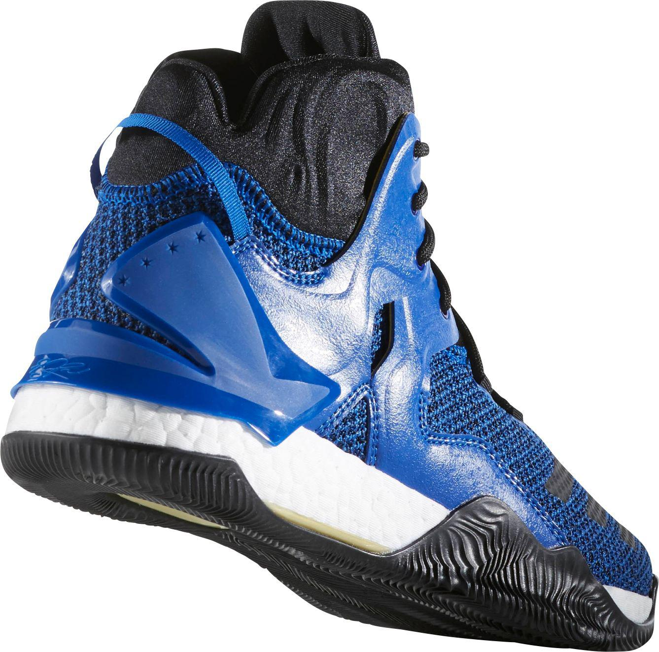 ebce611253bc Lyst - adidas D Rose 7 Boost Basketball Shoes in Blue for Men