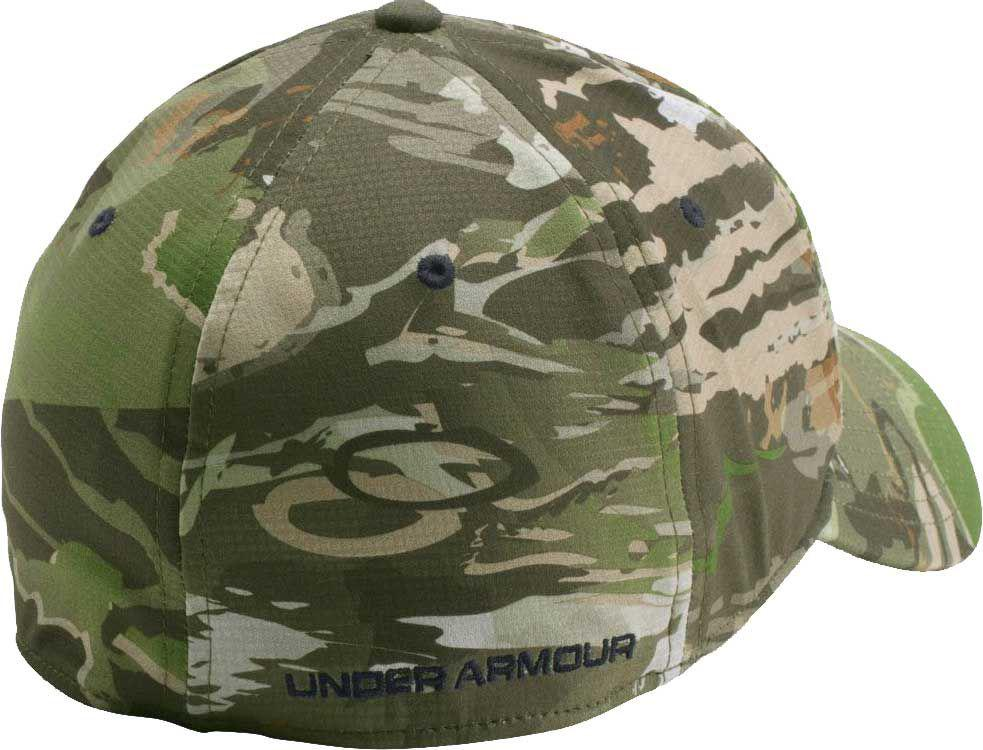 9d3dd057524 Lyst - Under Armour Stretch Fit Hunting Hat in Green for Men
