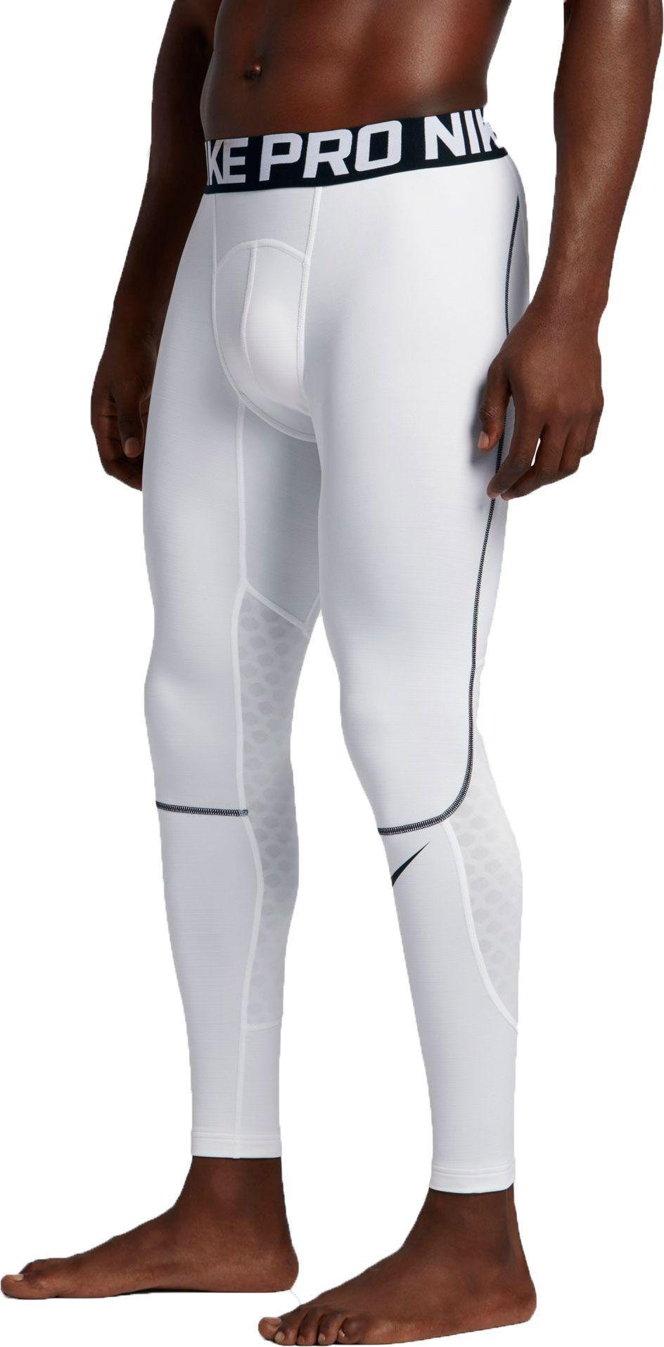 3c22e1e8cd23e Lyst - Nike Pro Hyperwarm Tights in White for Men