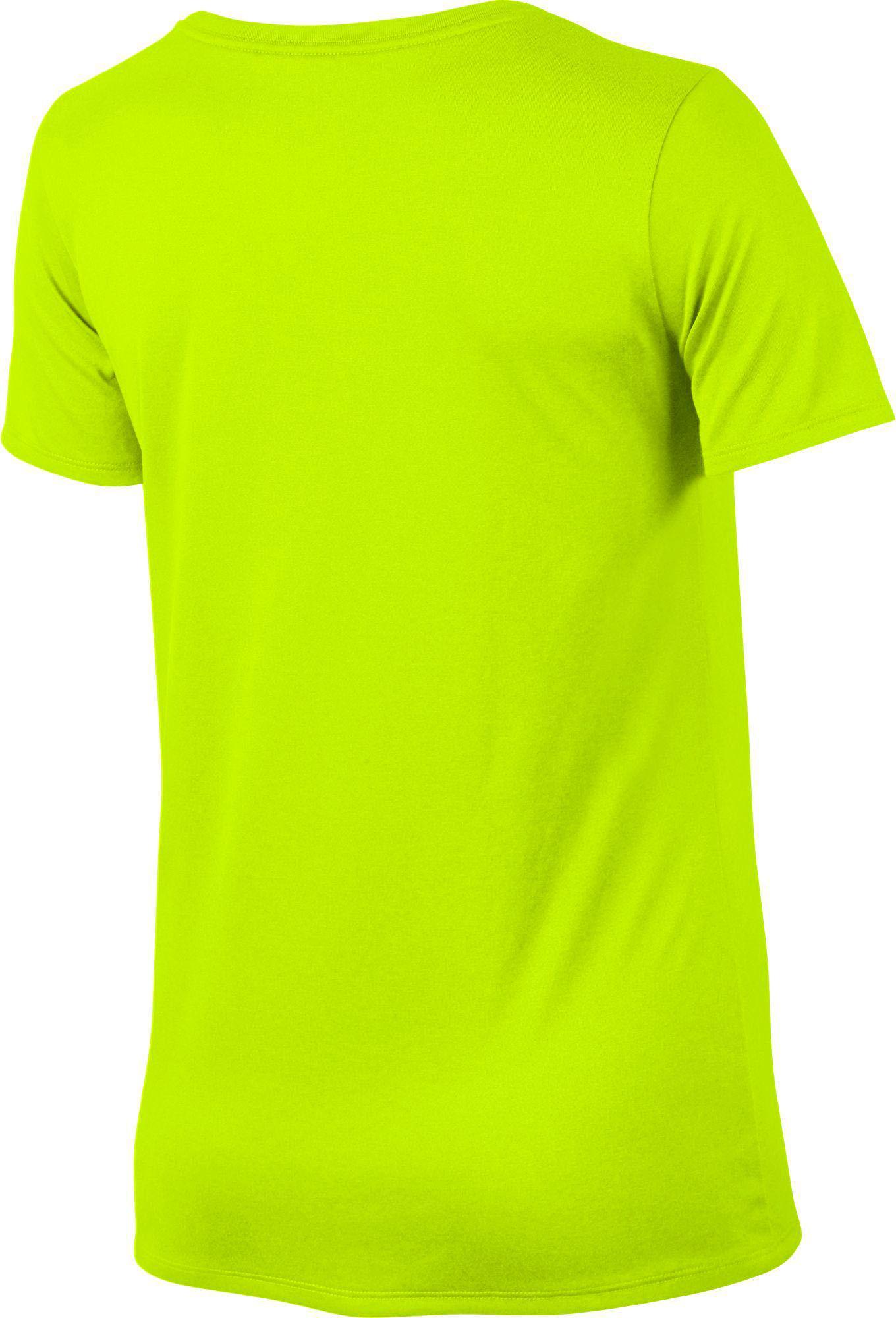 349eb492874e Nike - Green Woman s Dry Legend Training T-shirt - Lyst. View fullscreen