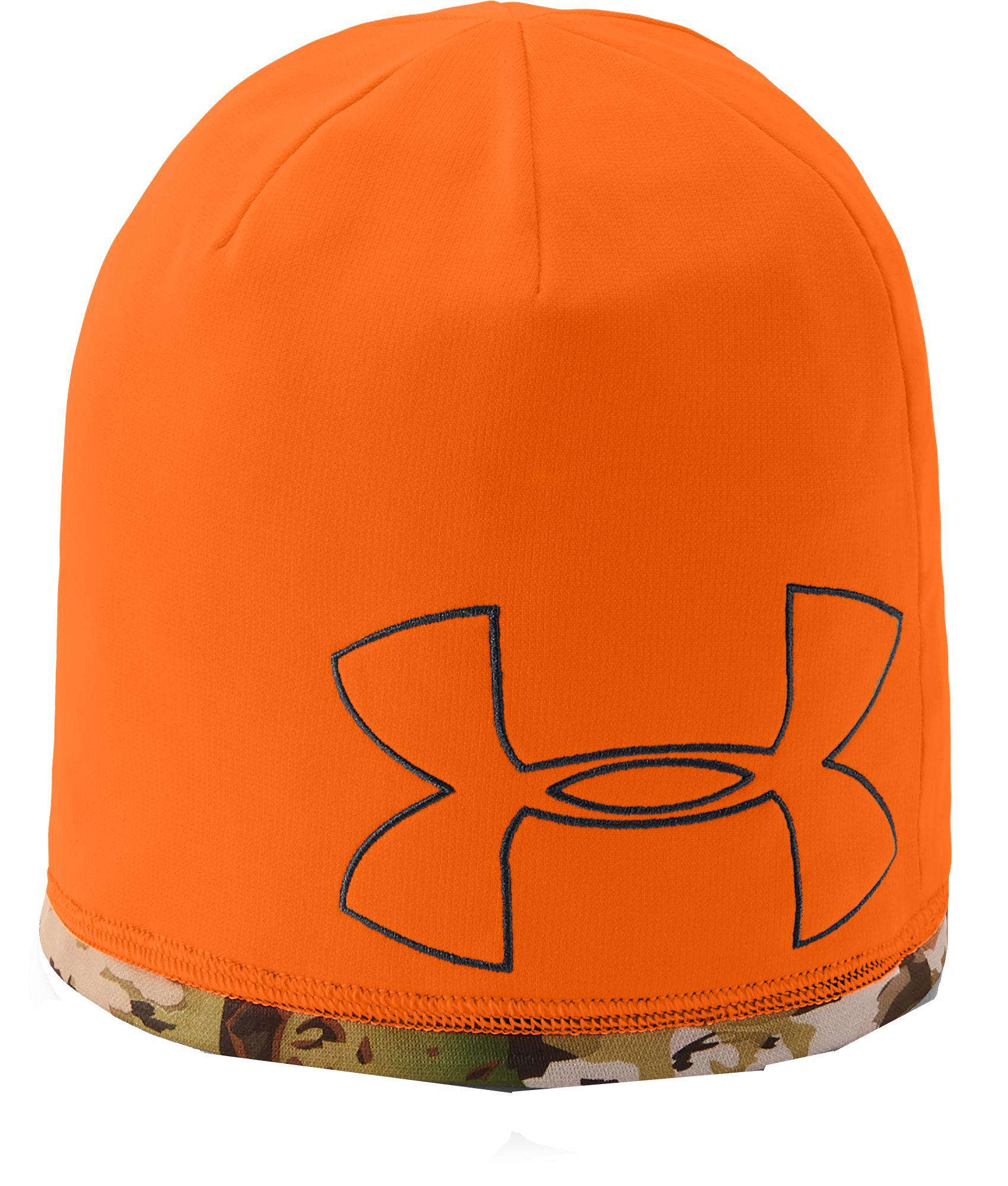 Under Armour - Orange Reversible Fleece 2.0 Hunting Beanie for Men - Lyst.  View fullscreen 85f7058e1a16