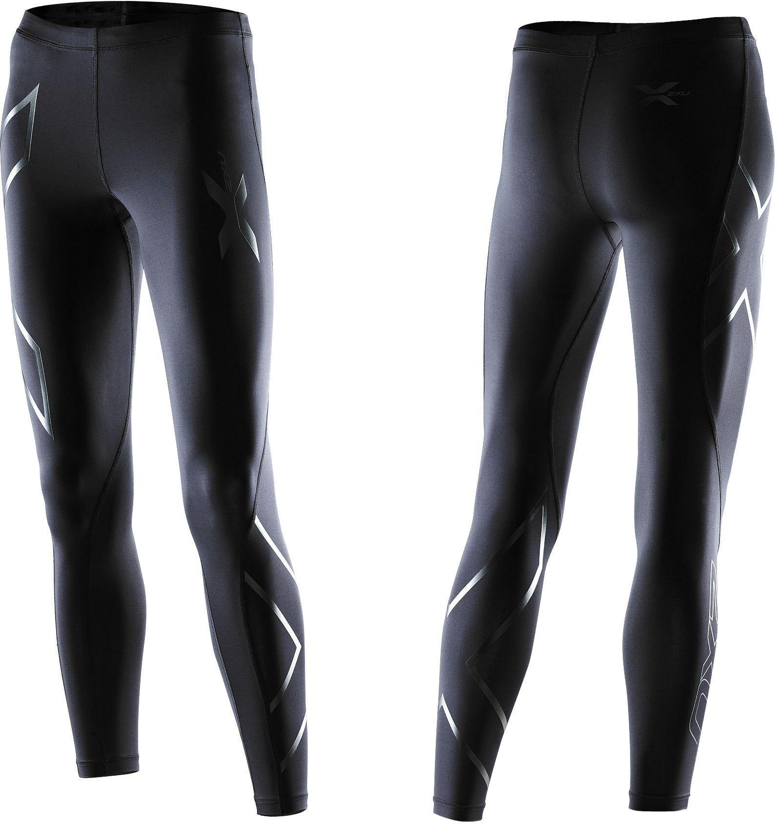 0b01932039 Lyst - 2XU Recovery Compression Tights in Black