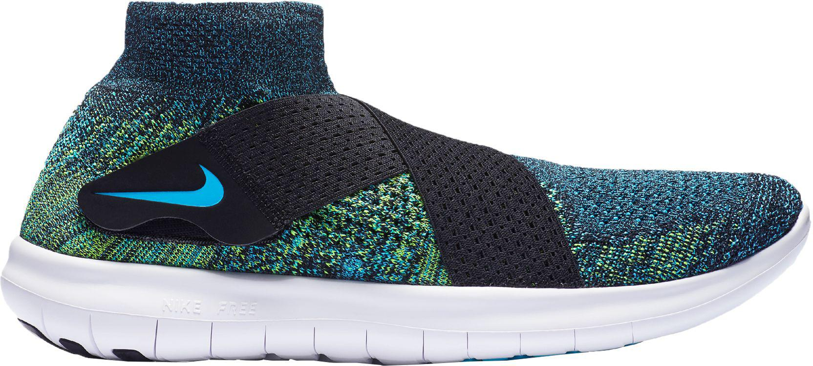 4fabc45348e Lyst - Nike Free Rn Motion Flyknit 2 Running Shoes in Blue for Men