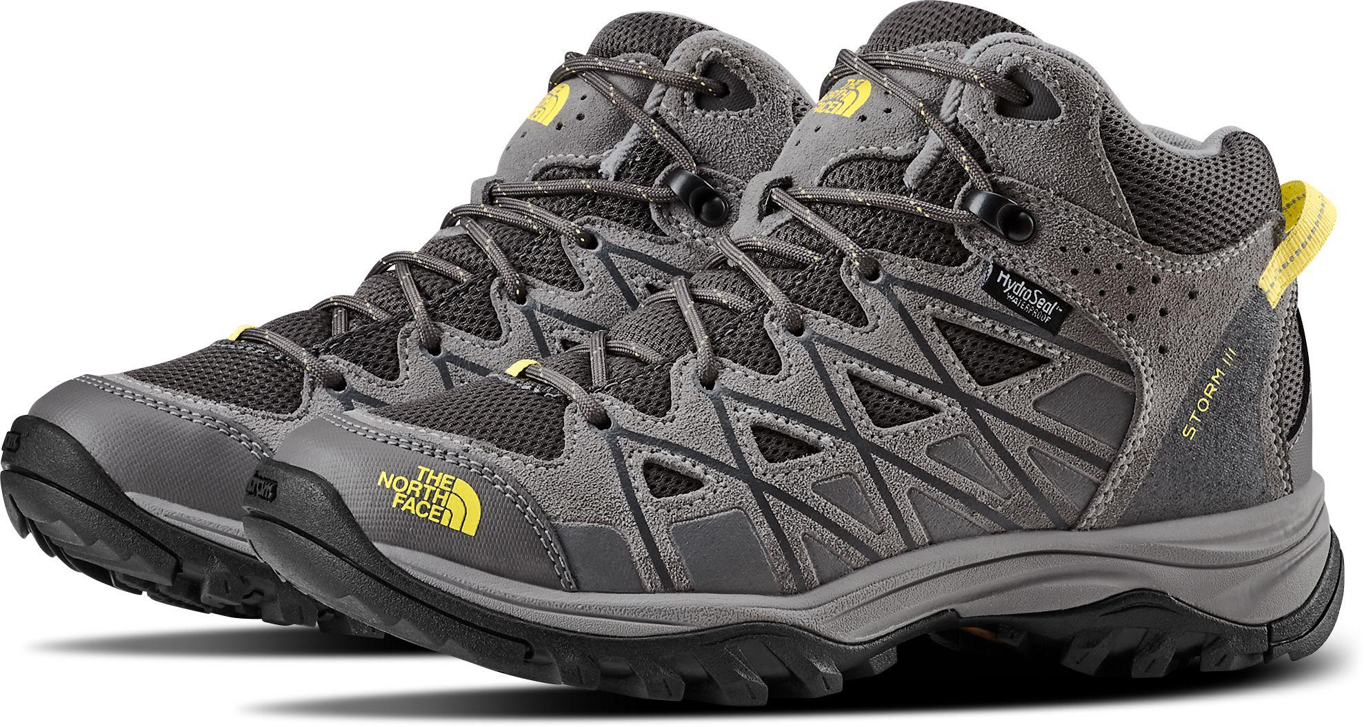 f546f5fcce0 Lyst - The North Face Storm Iii Mid Waterproof Hiking Boots in Gray