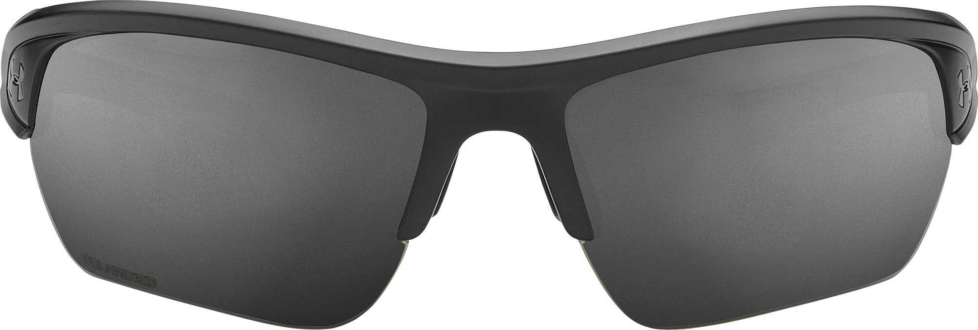 7831dbed1c8 Under Armour - Black Octane Running Polarized Sunglasses for Men - Lyst.  View fullscreen