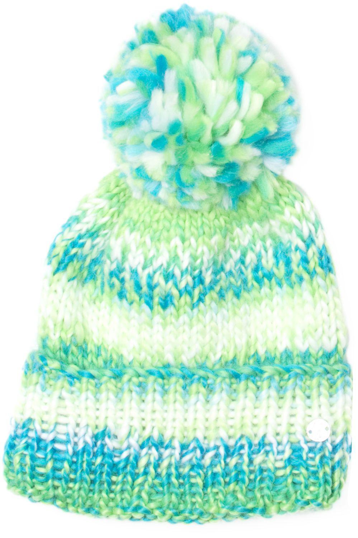 Lyst - Spyder Girls  Twisty Winter Hat in Green cb27788558d5