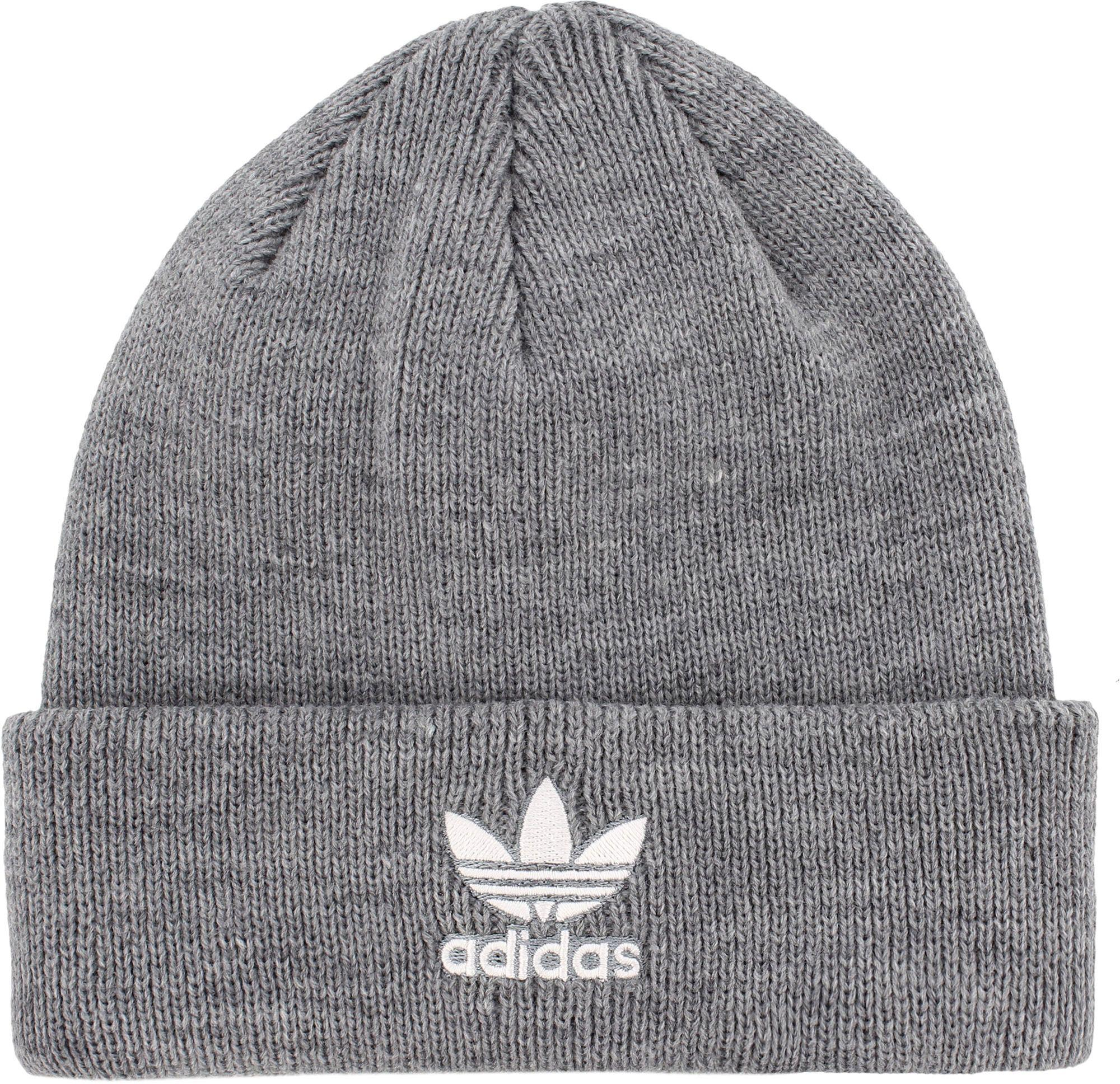 5f9dec46f970a Adidas - Gray Originals Youth Trefoil Beanie for Men - Lyst. View fullscreen