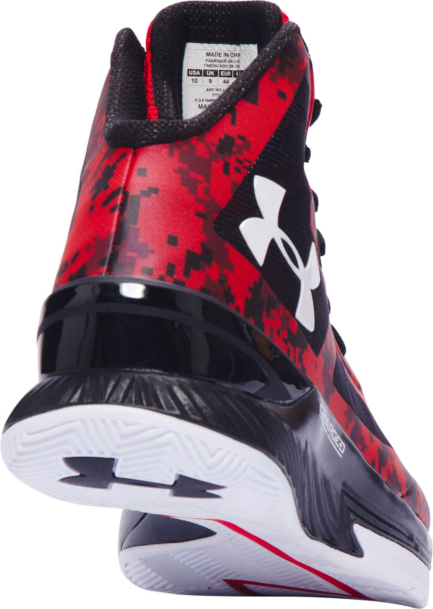 59d0b73ae8a5 Lyst - Under Armour Clutchfit Lightning Basketball Shoes in Red for Men