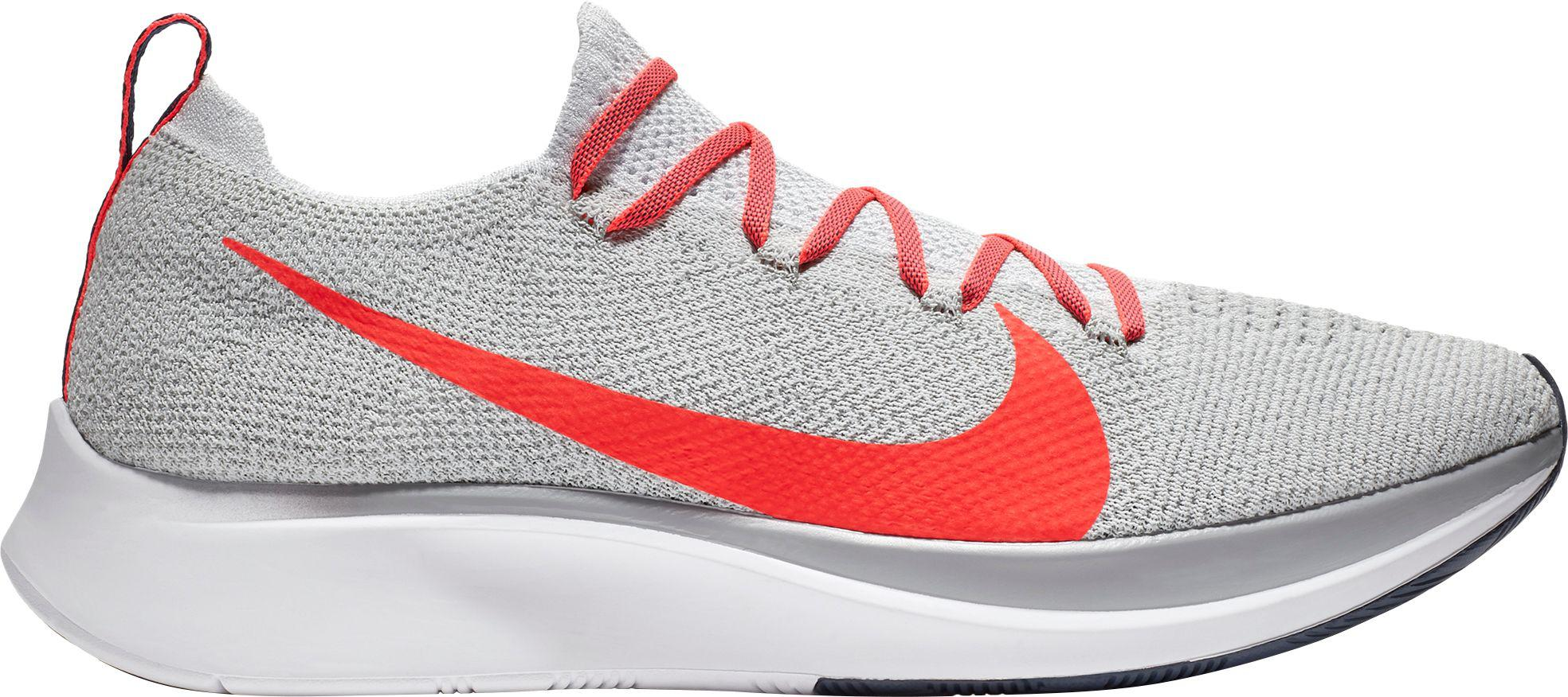 caa217d70654 Lyst - Nike Zoom Fly Flyknit Running Shoes in Gray for Men