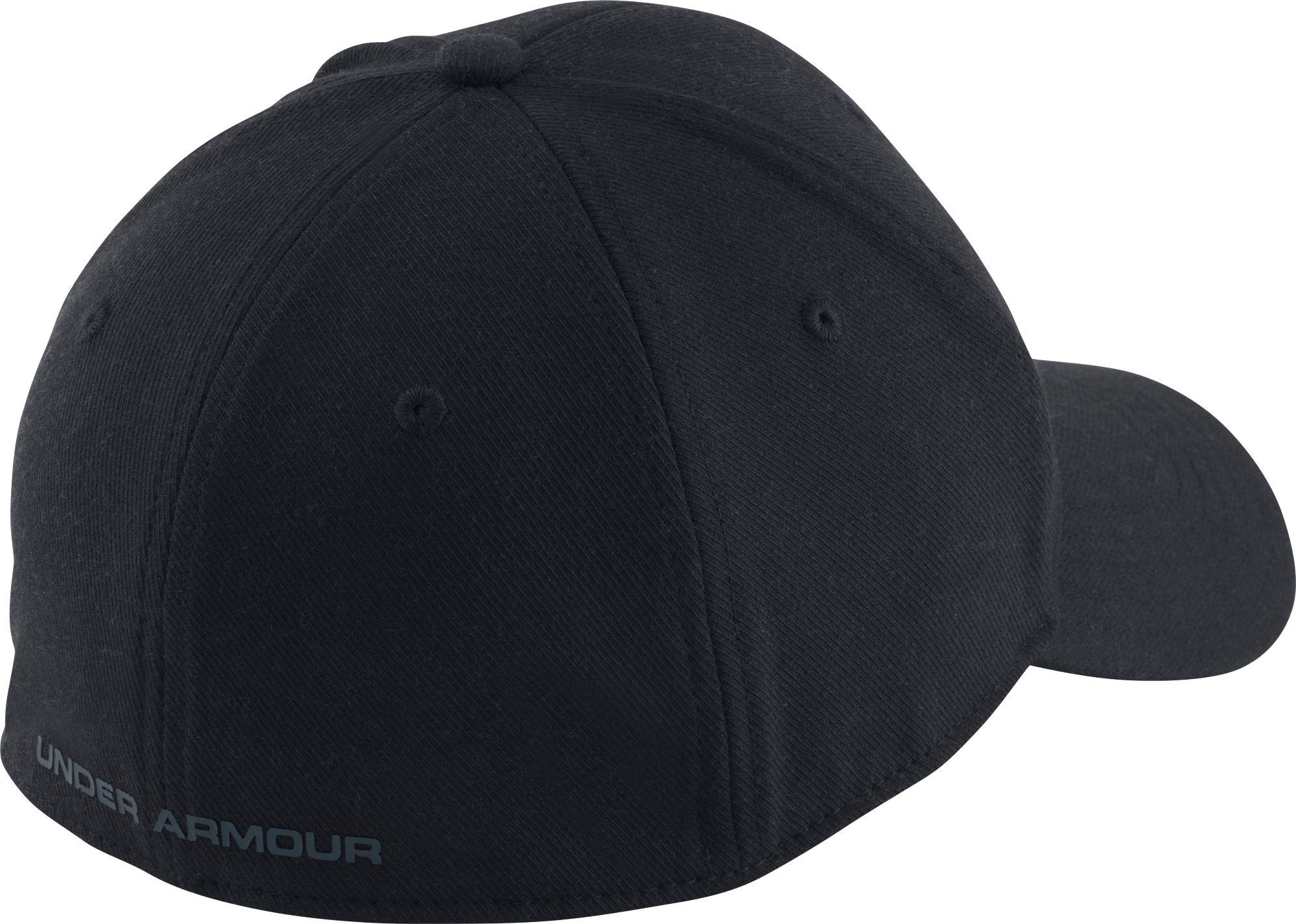 70a7ab3d5a633 ... low price under armour black wool low crown hat for men lyst. view  fullscreen 8ed20