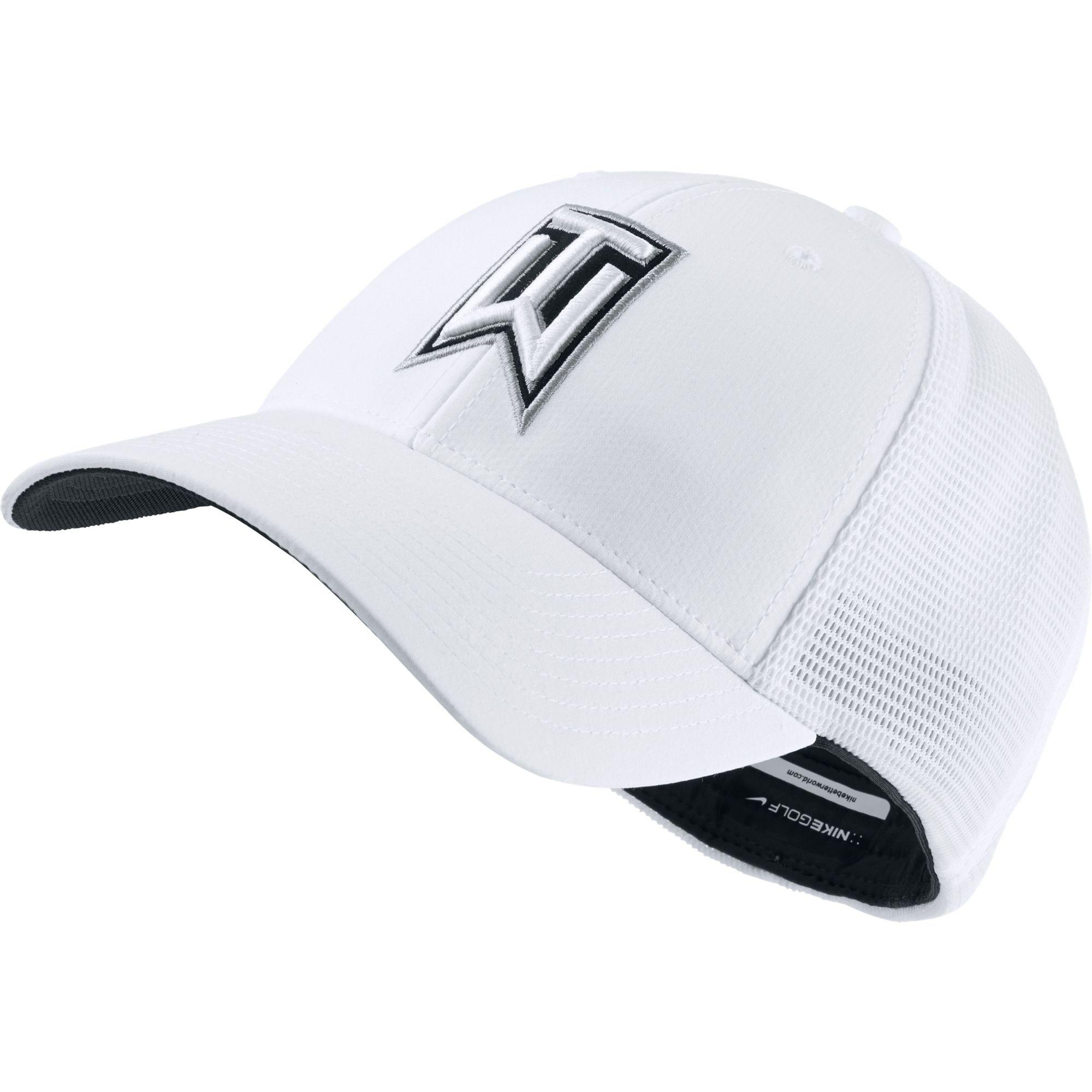 Lyst - Nike Tiger Woods Legacy91 Tour Mesh Golf Hat in White for Men 091622182a16