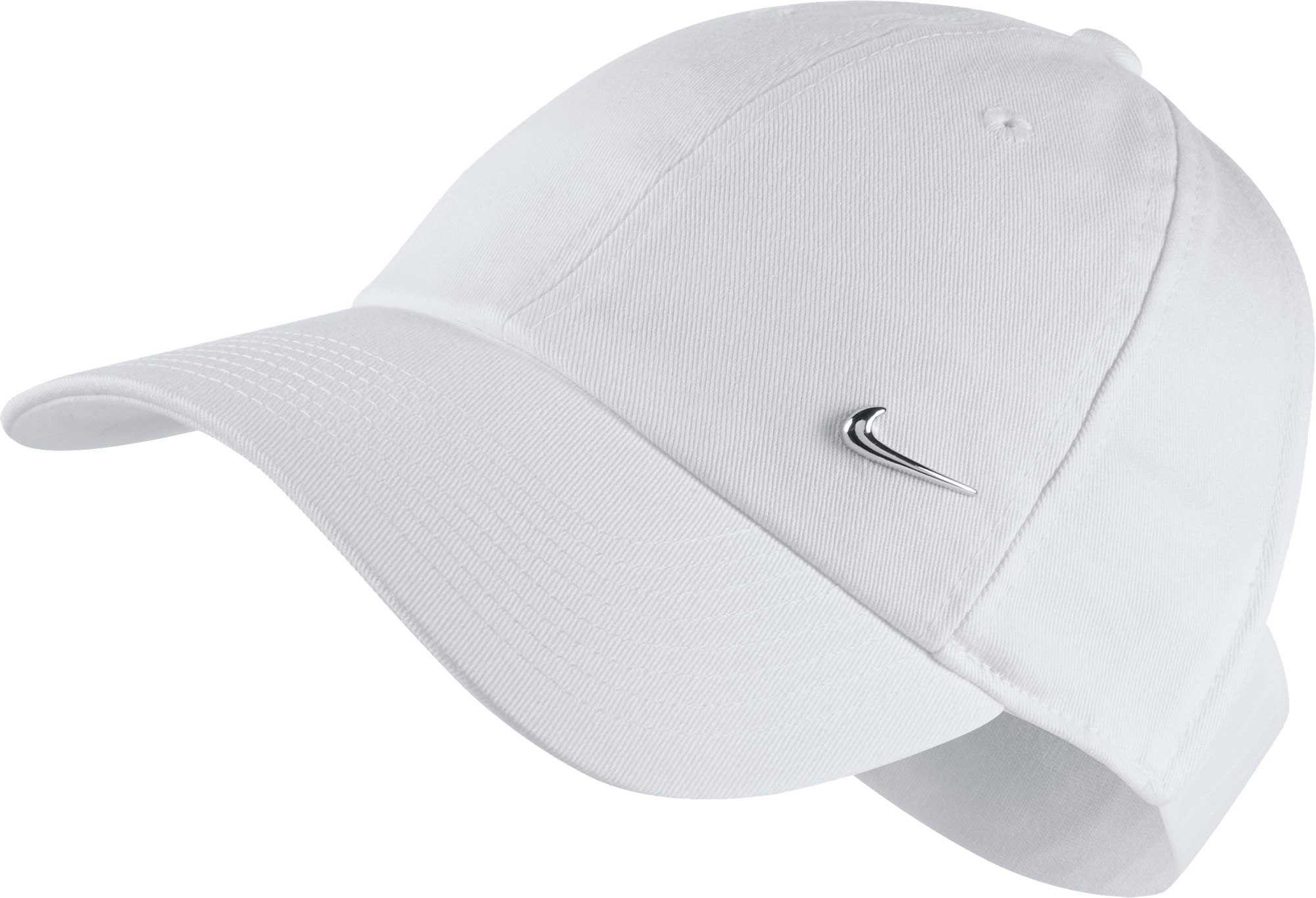 91eda717040e6 good image of nike aerobill running cap 49c8d 59ce0  new arrivals lyst nike  sportswear open back visor hat in white 2b6c8 df88e
