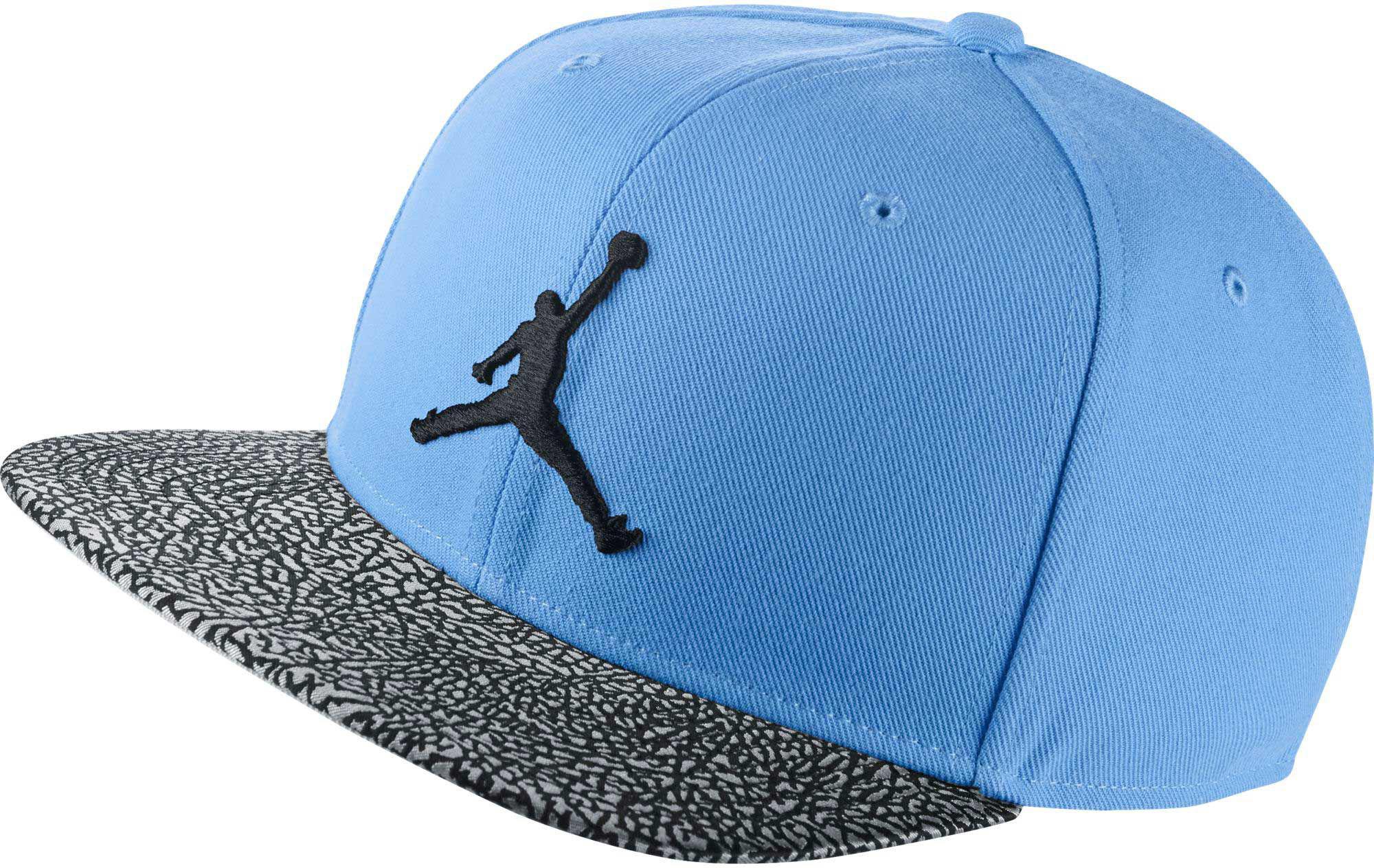ba63df141620b ... best price lyst nike jordan elephant printed adjustable hat in blue for  men f0082 adca8