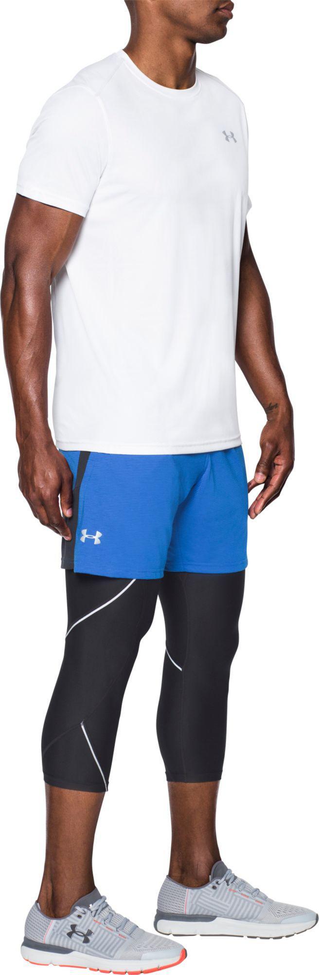 34919a500 Under Armour - Blue 7'' Threadborne Streaker Running Shorts for Men - Lyst