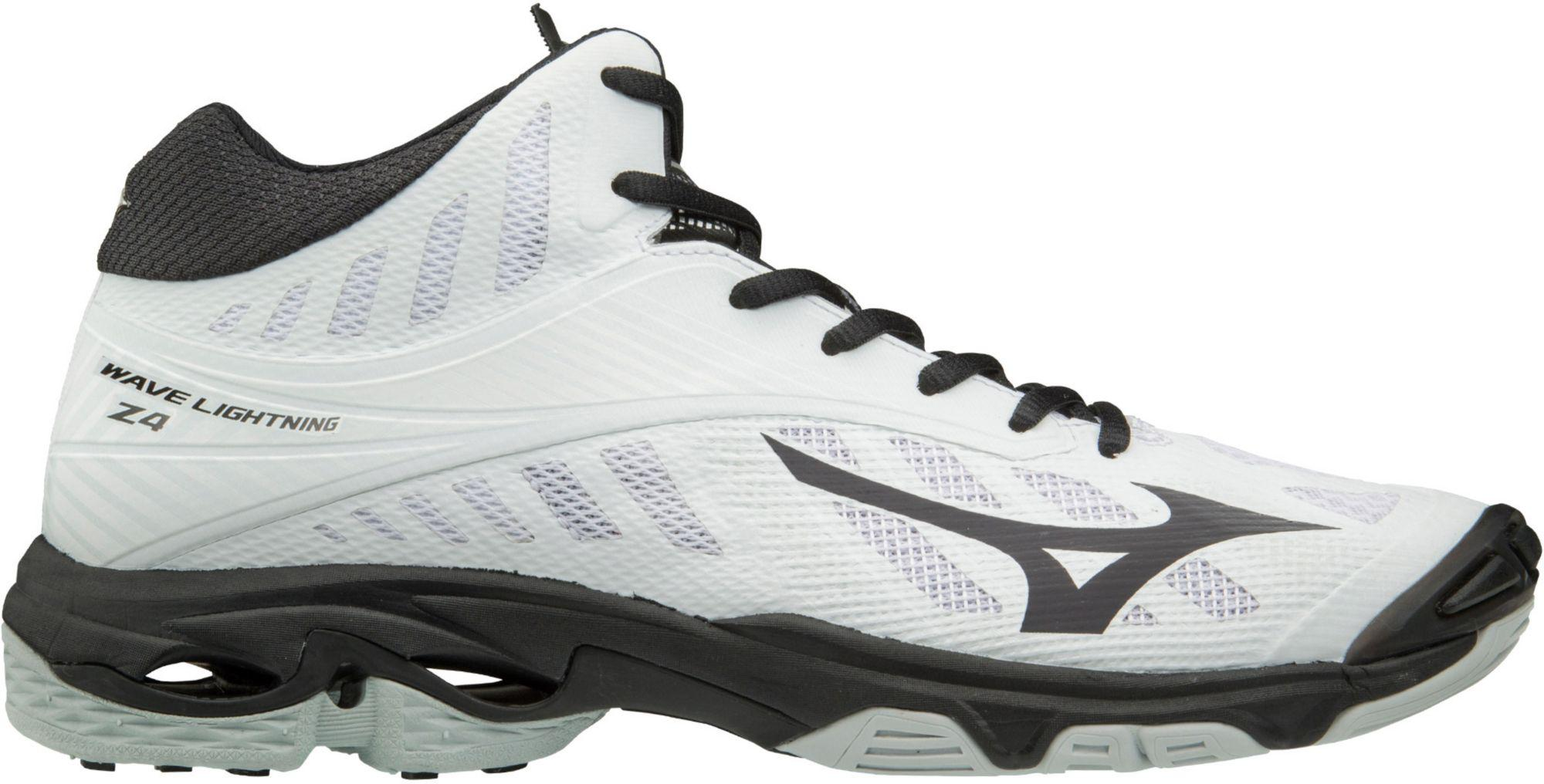 sports shoes a2f78 a32ad Lyst - Mizuno Wave Lightning Z4 Mid Volleyball Shoes in Black for Men