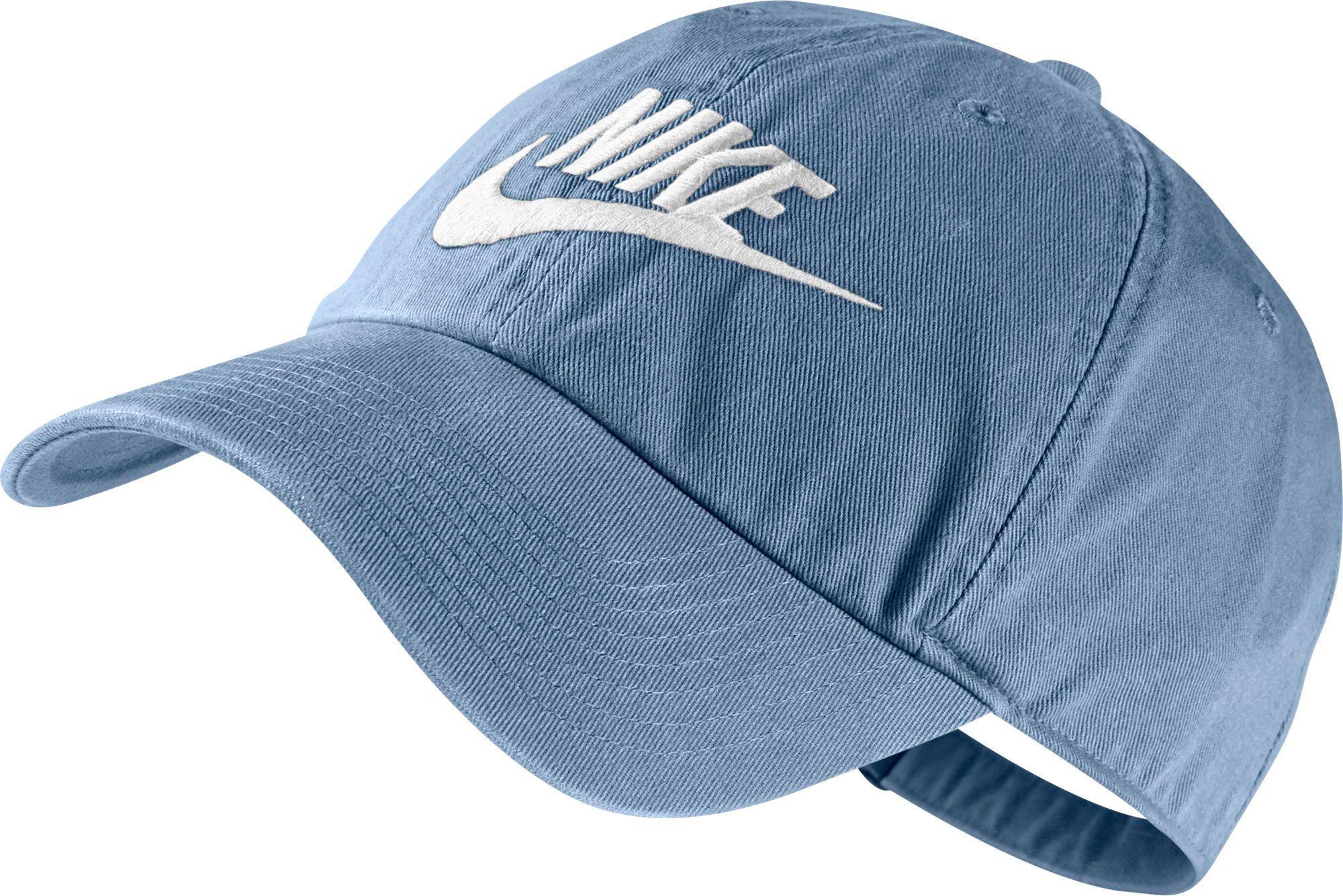 reputable site 7ec9a 9c537 Nike - Blue Heritage 86 Futura Adjustable Hat for Men - Lyst
