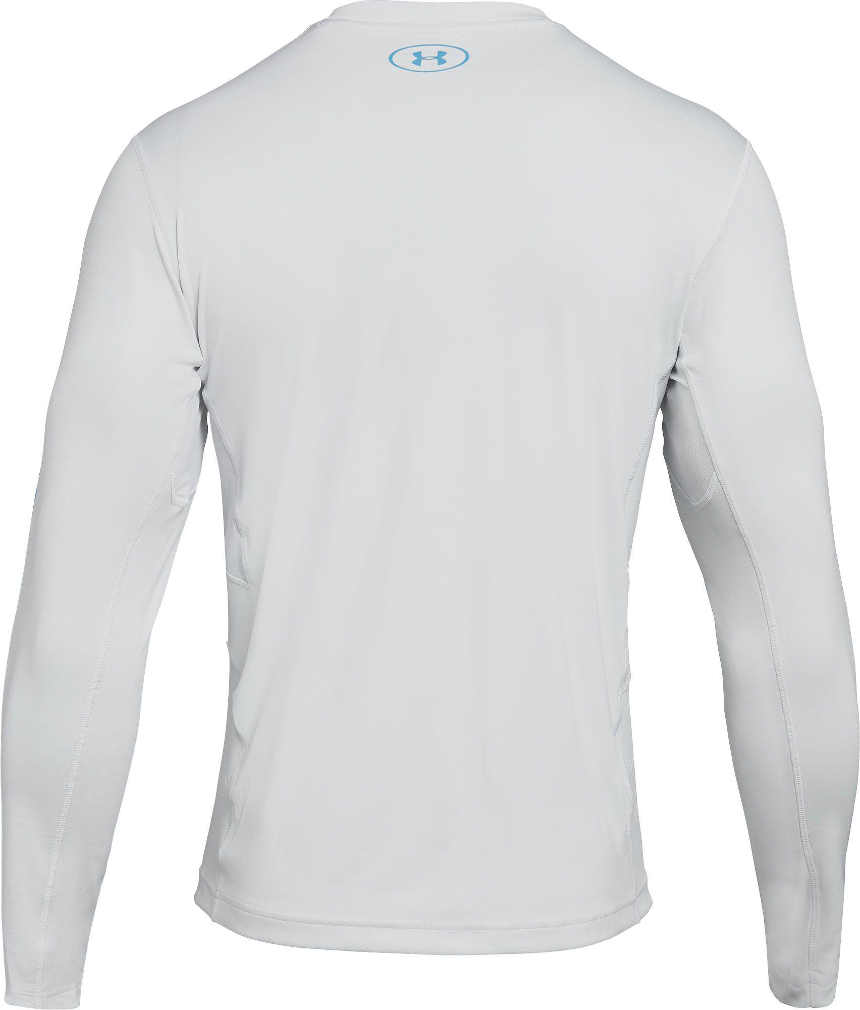 6d2912e63bf7 White Under Armour Fishing Shirt | Azərbaycan Dillər Universiteti
