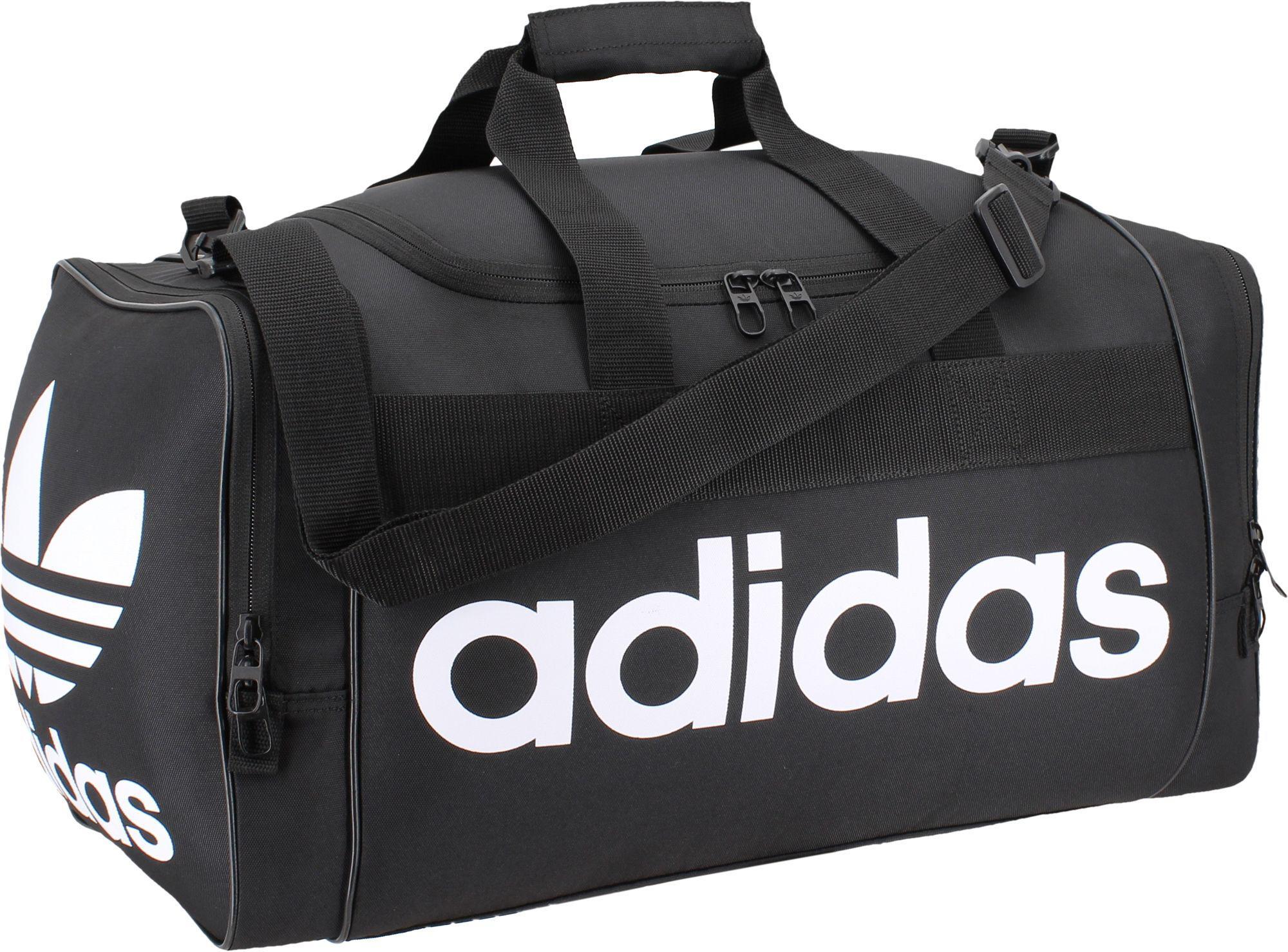 Lyst - adidas Originals Santiago Duffle Bag in Black for Men 8c1fa290cc763