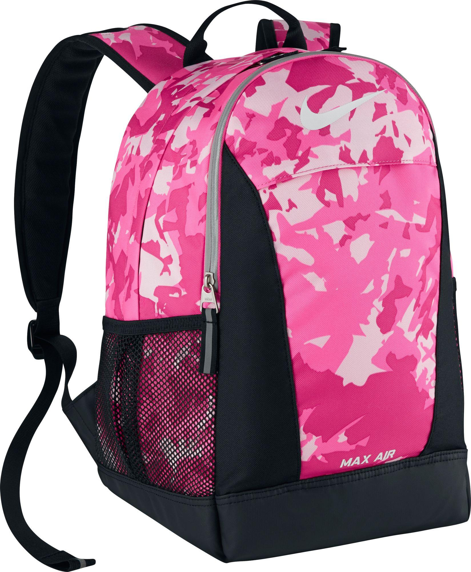 b6329caf2d Lyst - Nike Ya Max Air Team Training Small Backpack in Pink