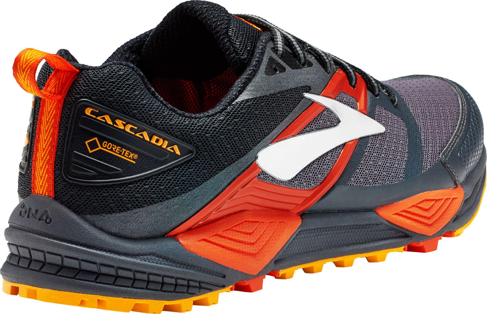 e621212ab8b Lyst - Brooks Cascadia 12 Gtx Trail Running Shoes in Red for Men
