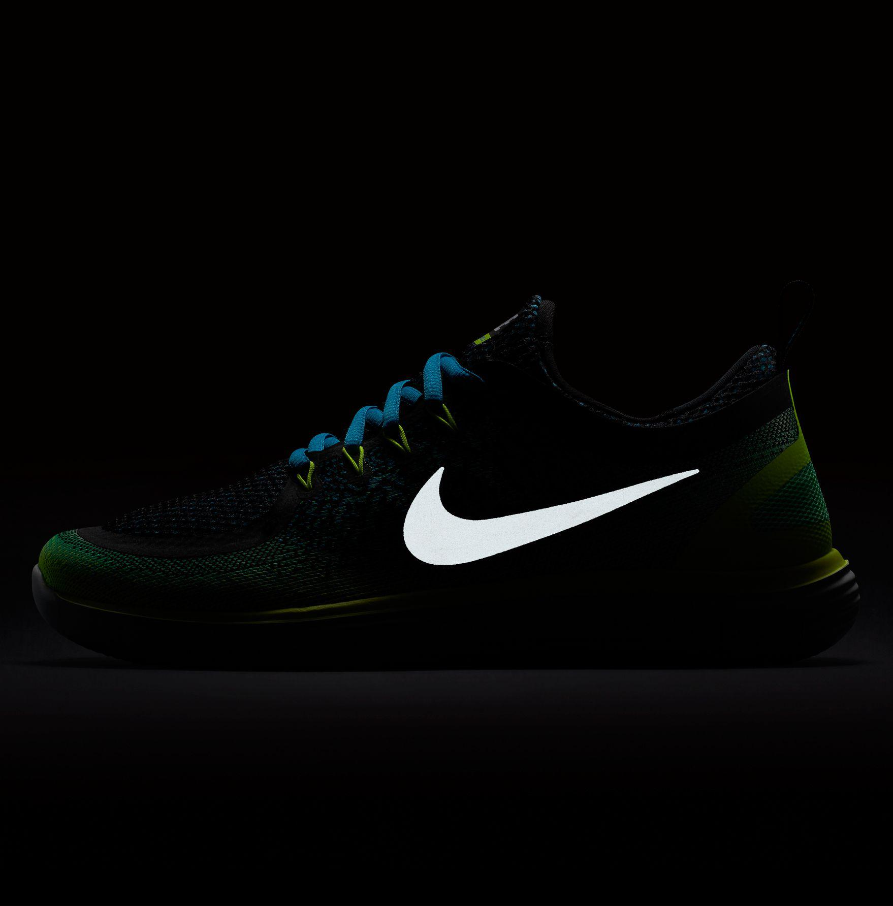 b316bc353b191 Lyst - Nike Free Rn Distance 2 Running Shoes in Green for Men