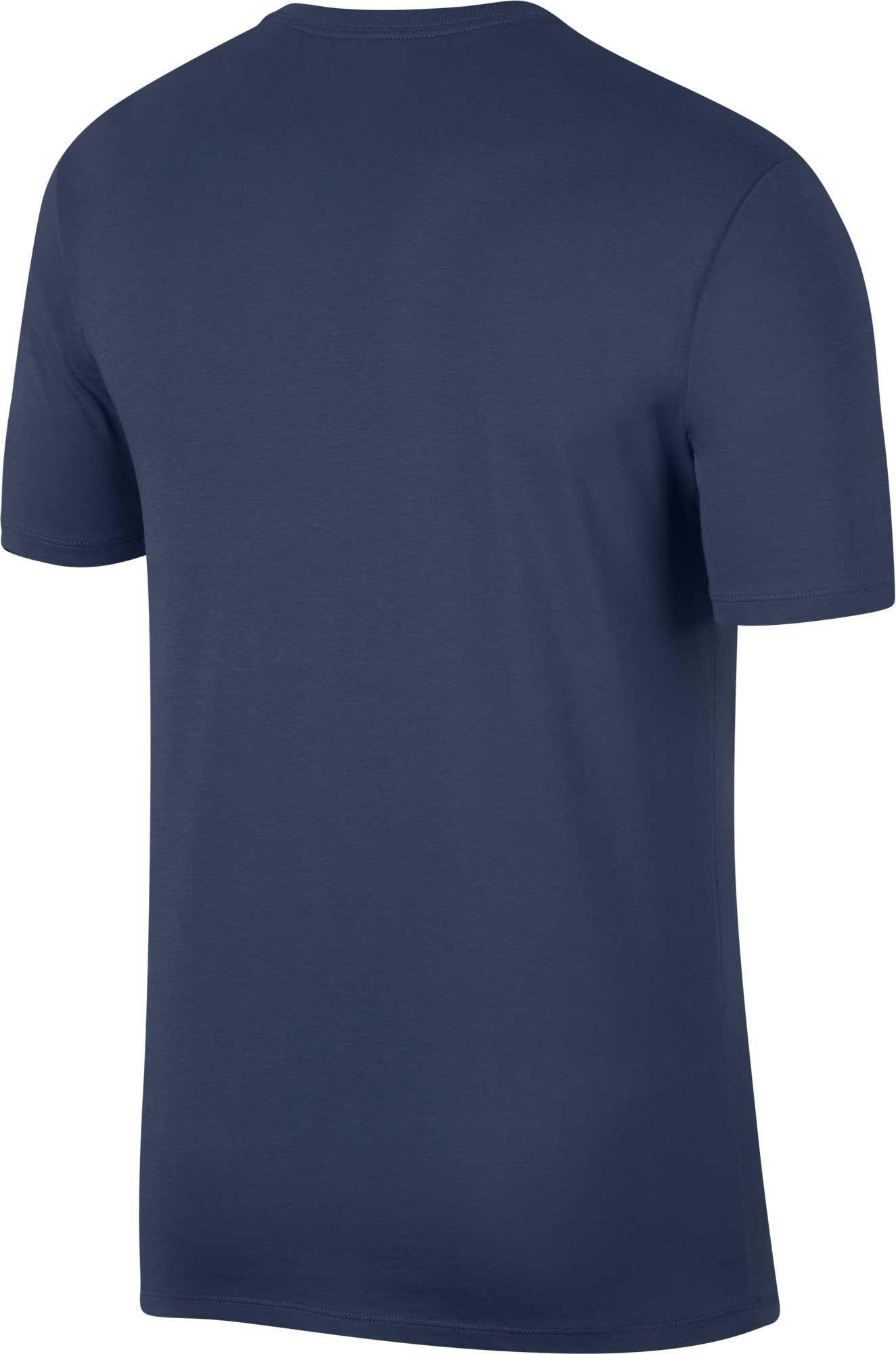 050689a570ebe6 Lyst - Nike Jordan Flight Mashup Graphic Tee in Blue for Men