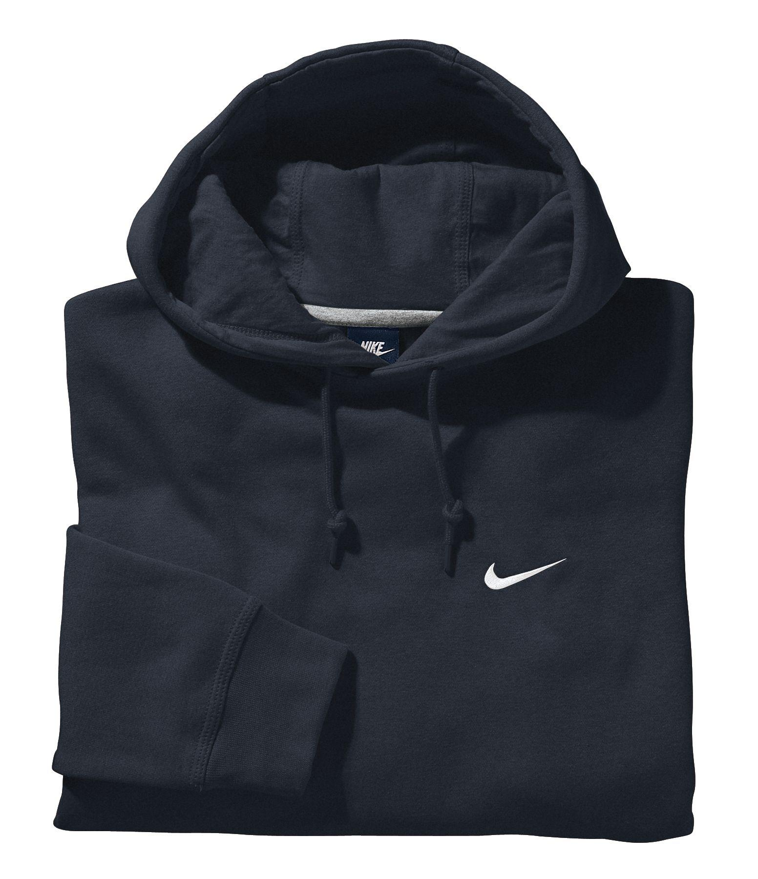 0891bbf76cde Lyst - Nike Classic Club Fleece Hoodie in Blue for Men