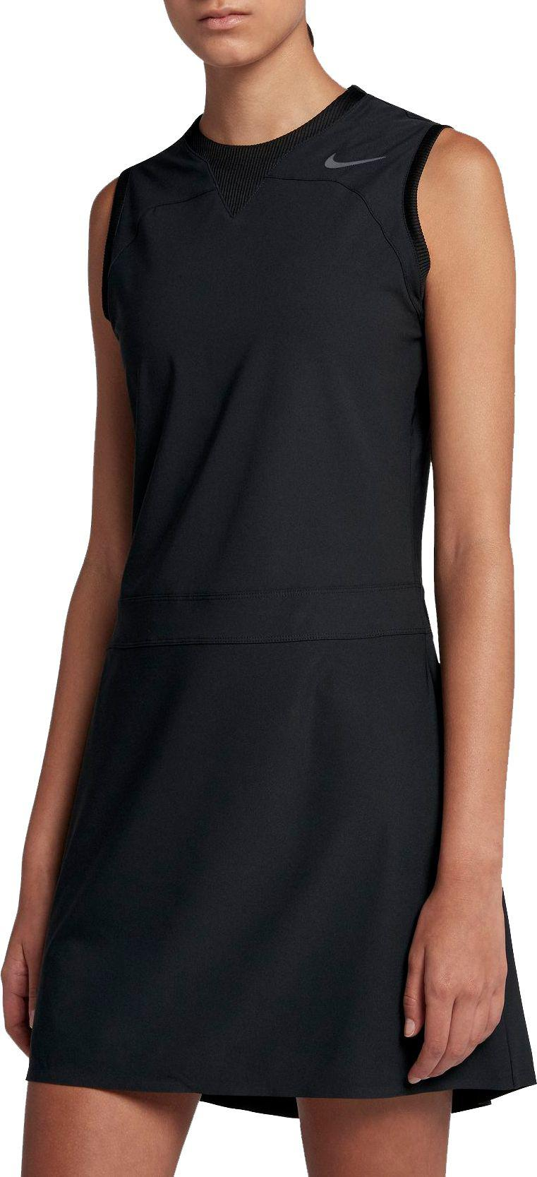 c09edf70839e08 Lyst - Nike Sleeveless Flex Golf Dress in Black