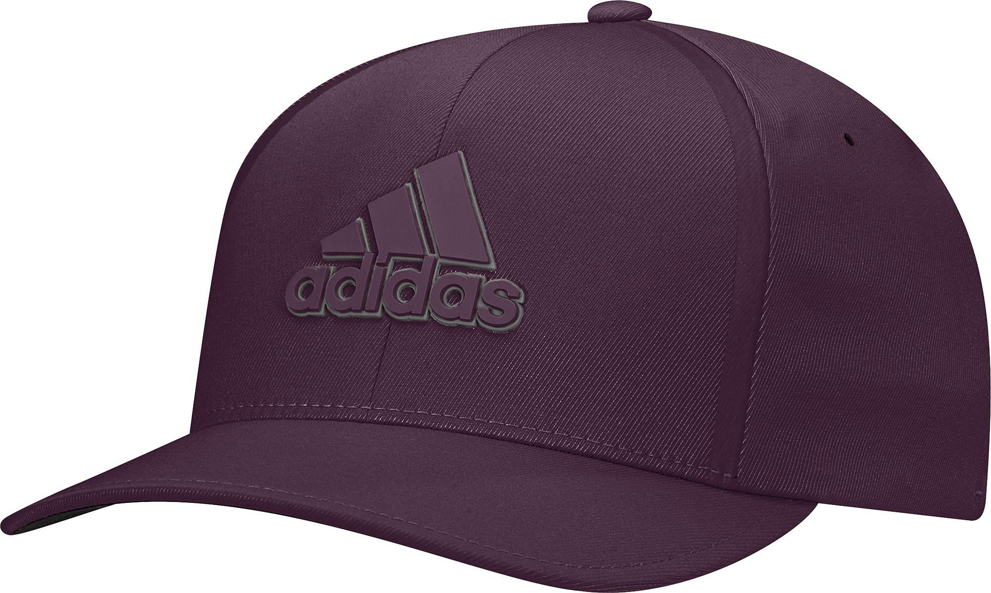 4aa48a61a52 Lyst - adidas Tour Delta Textured Golf Hat in Purple for Men