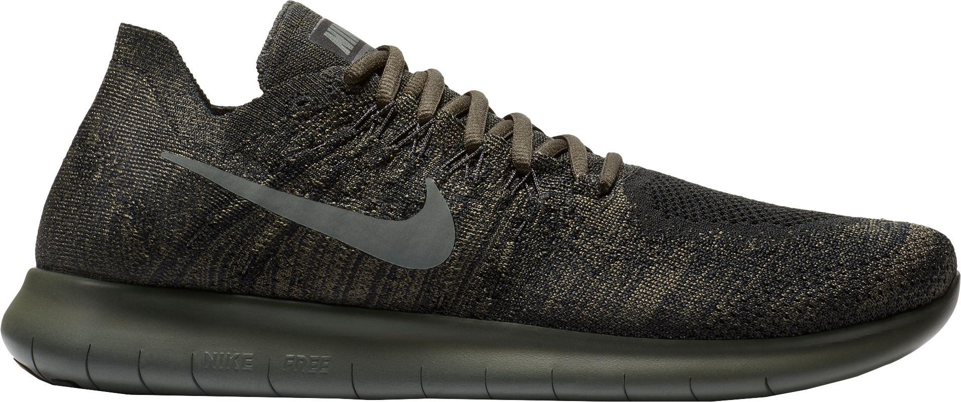 b5cfef43ffca ... ireland nike black free rn flyknit 2017 running shoes for men lyst  dcb65 14e67