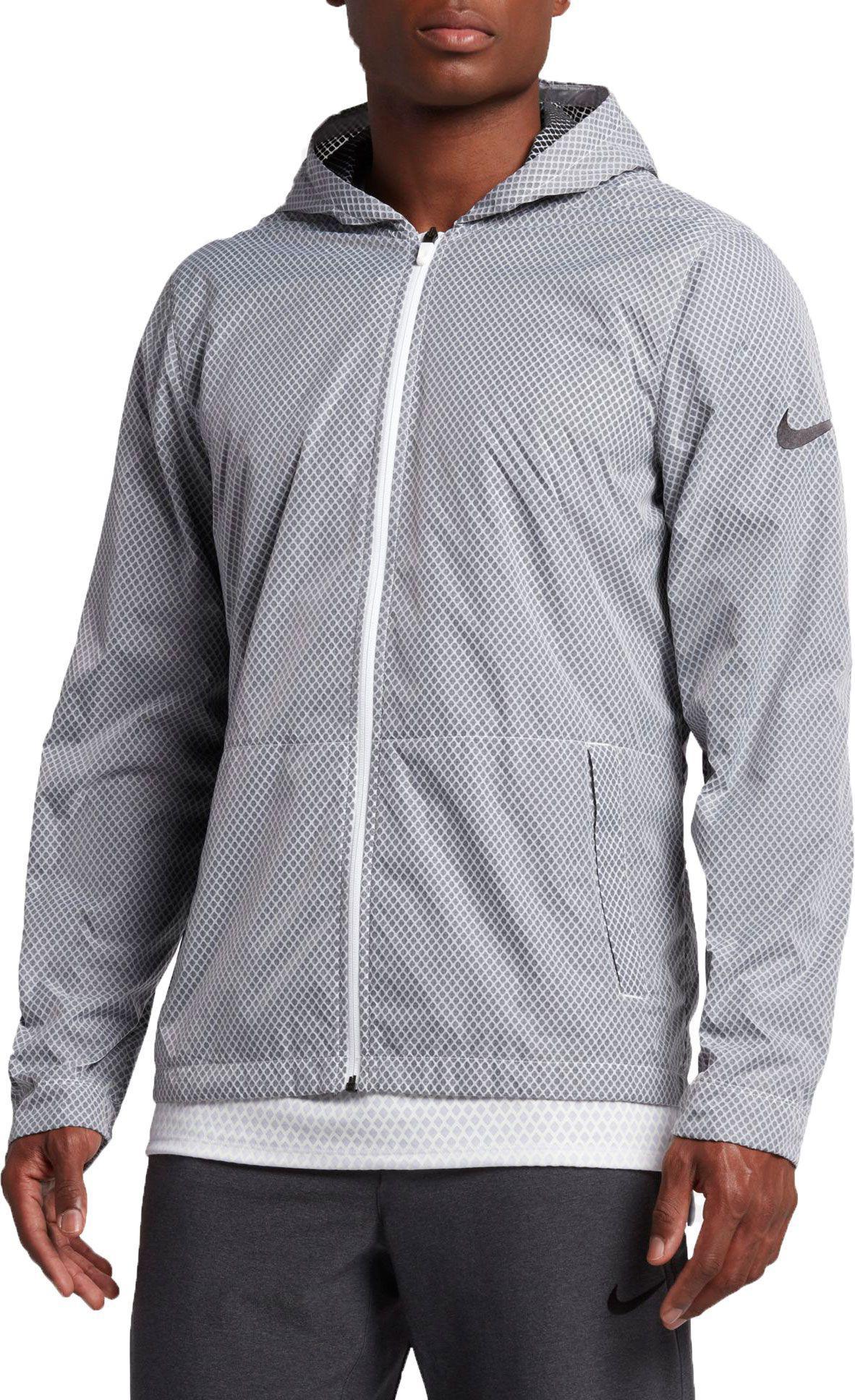 a31e14e3259d Lyst - Nike Hyper Elite All Day Full Zip Basketball Jacket in Black ...