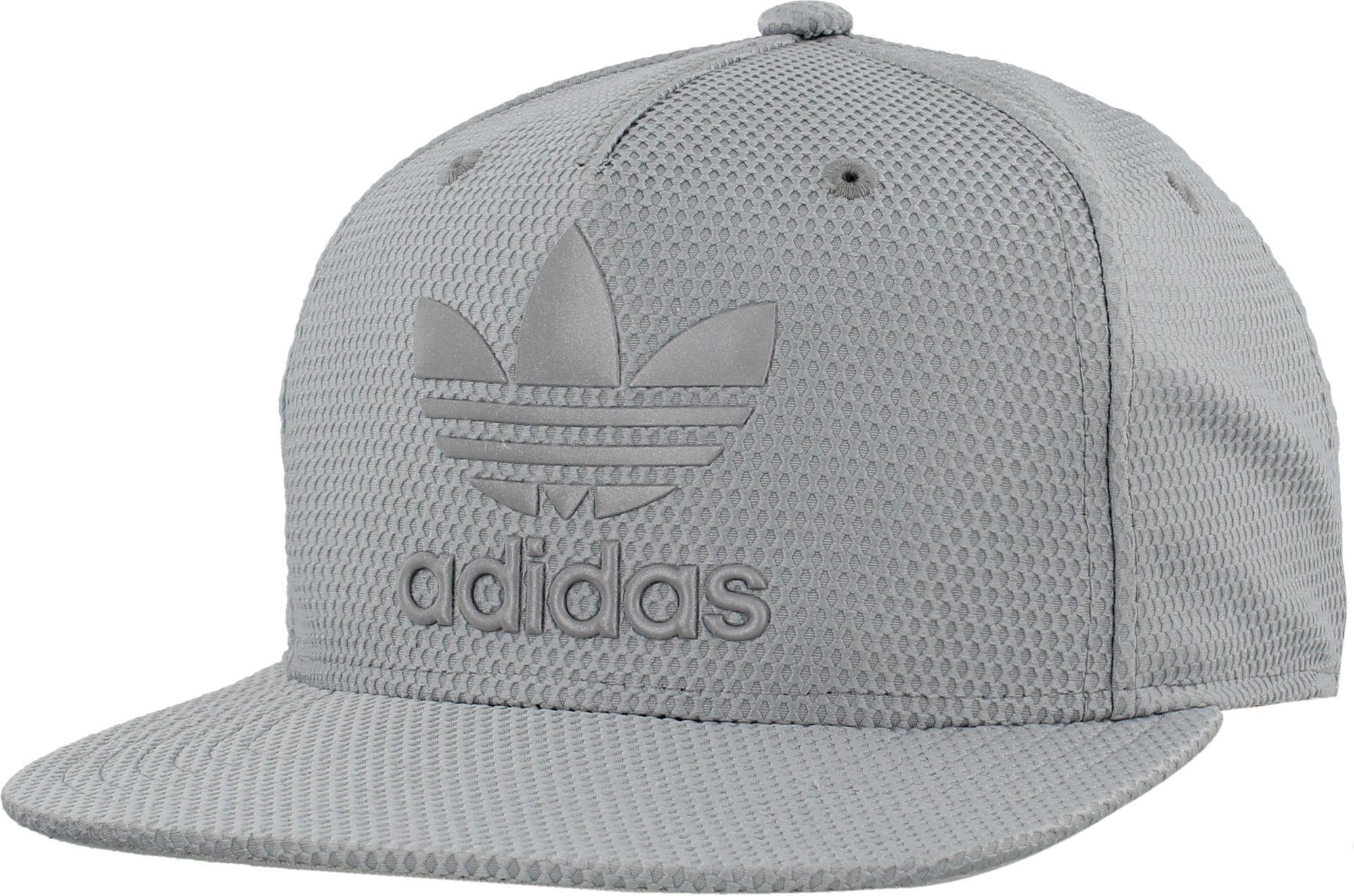 4a49ea96f16 Lyst - adidas Originals Originals Trefoil Reflective Snapback Hat in ...