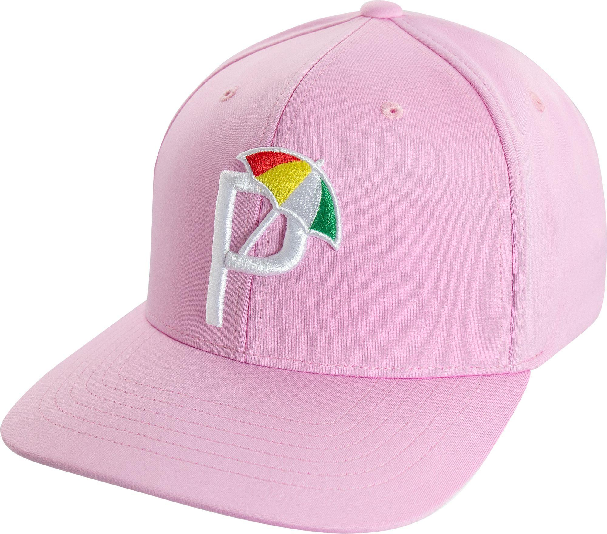 low priced 699ee 3b0de PUMA Ap Snapback P 110 Golf Hat in Pink for Men - Lyst