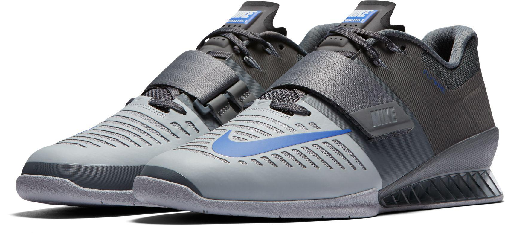 84c4bb74145c Lyst - Nike Romaleos 3 Weightlifting Shoe in Gray for Men