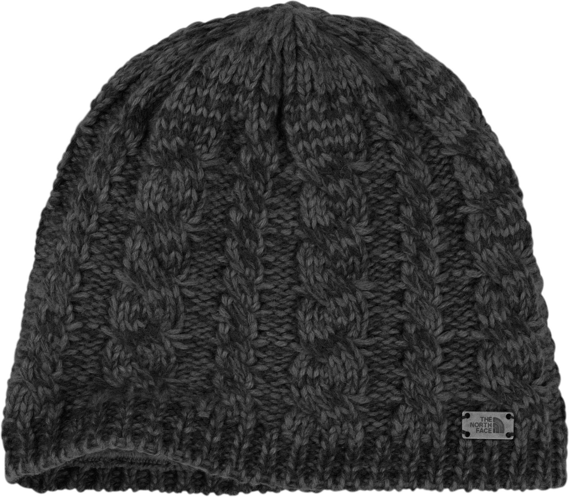 6f984628d8c6a Lyst - The North Face Fuzzy Cable Beanie in Gray