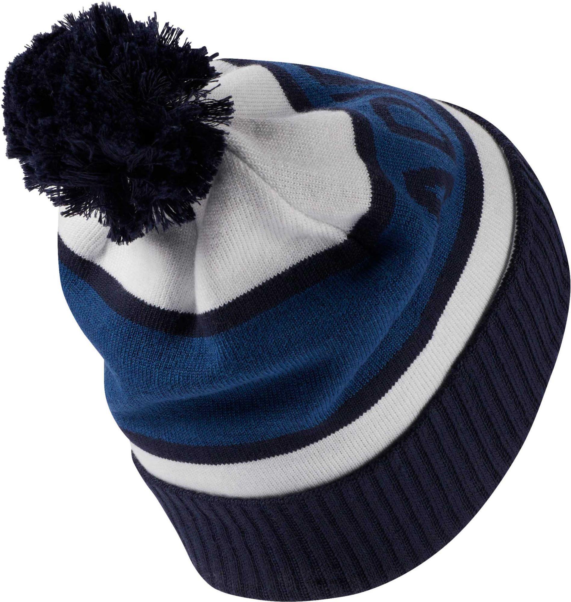 74691c7a238 Adidas - Blue Pom Golf Beanie for Men - Lyst. View fullscreen