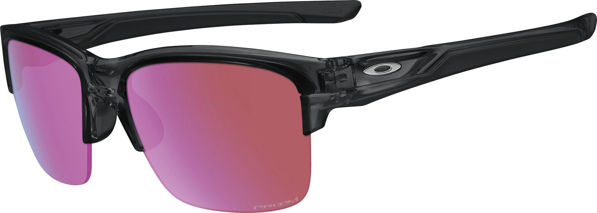 66e61f87a5a Lyst - Oakley Thinlink Prizm Golf Sunglasses in Black for Men