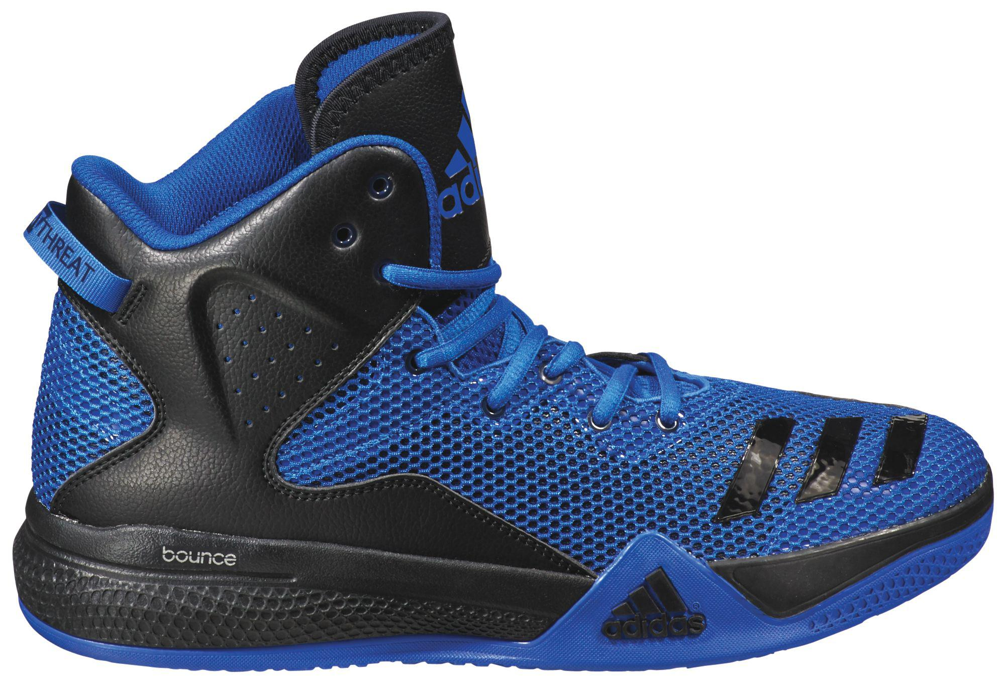 Lyst - adidas Dt Bball Mid Blue Basketball Shoe in Blue for Men a6ca4ea19