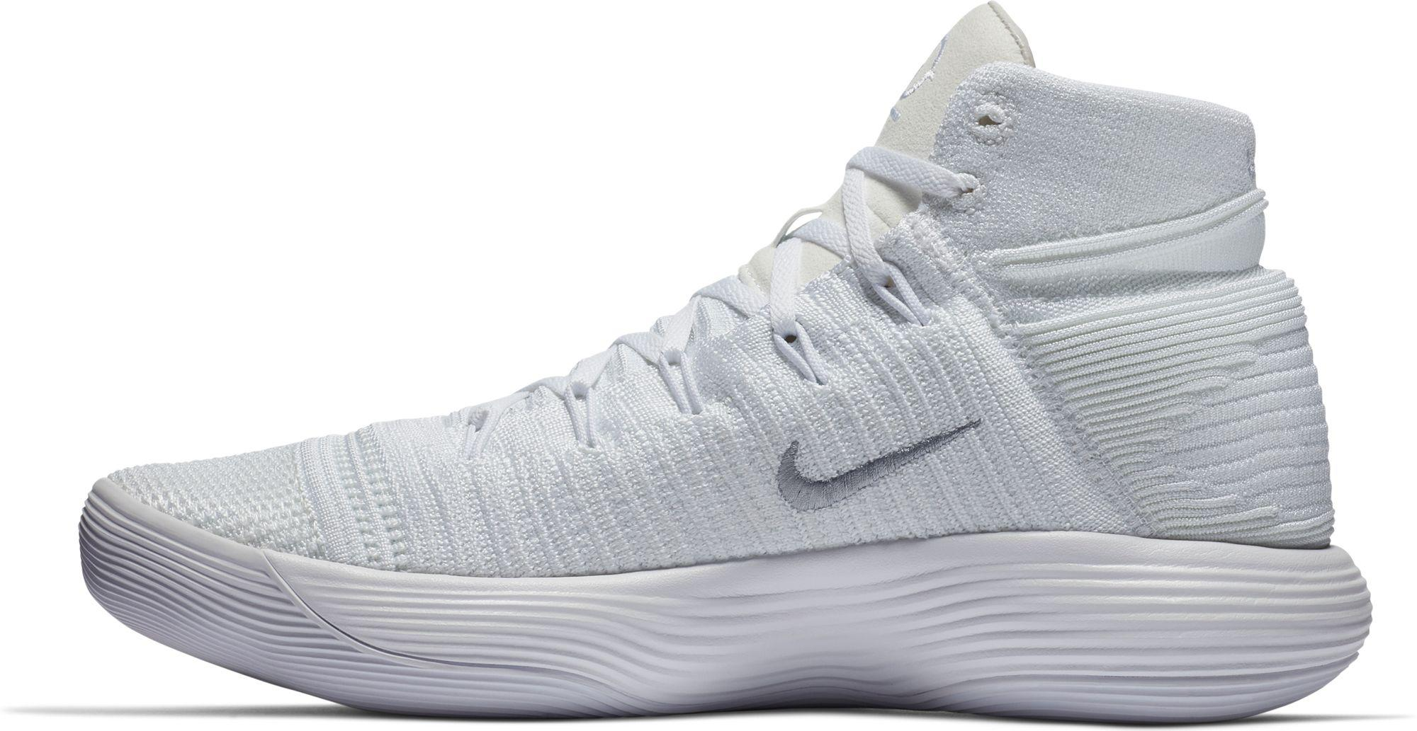 67cf55b0f09458 Nike - White React Hyperdunk 2017 Flyknit Basketball Shoes for Men - Lyst