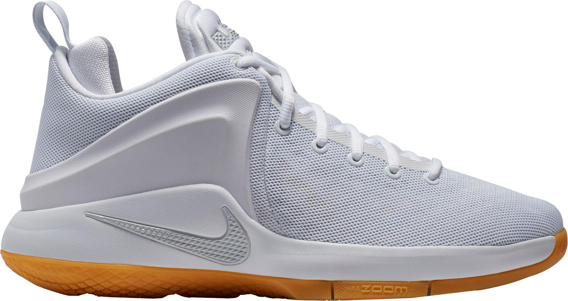 66295ccc9f0 ... coupon for lyst nike zoom witness basketball shoes in white for men  4d11c ca8e8 switzerland nike lebron ...