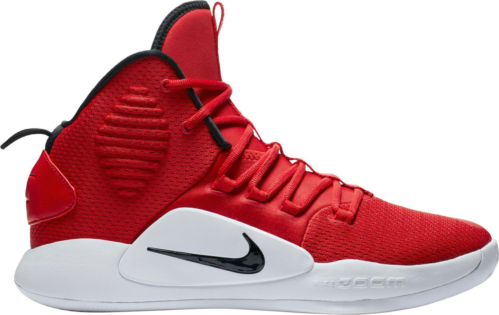 f7421236c99c Nike Hyperdunk X Mid Tb Basketball Shoes in Red for Men - Lyst