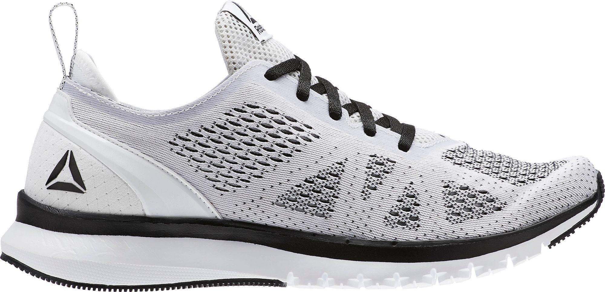 8fecaad1da8116 Lyst - Reebok Print Smooth Clip Ultraknit Running Shoes in Black for Men