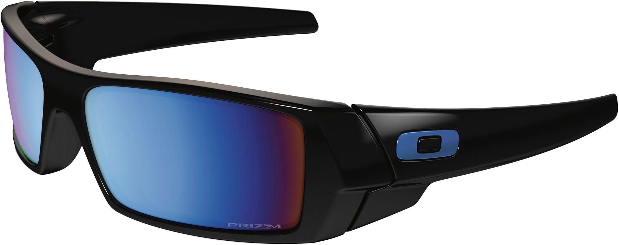 1a9ba1c29ff Lyst - Oakley Gascan Prizm Deep Water Polarized Sunglasses in Black ...