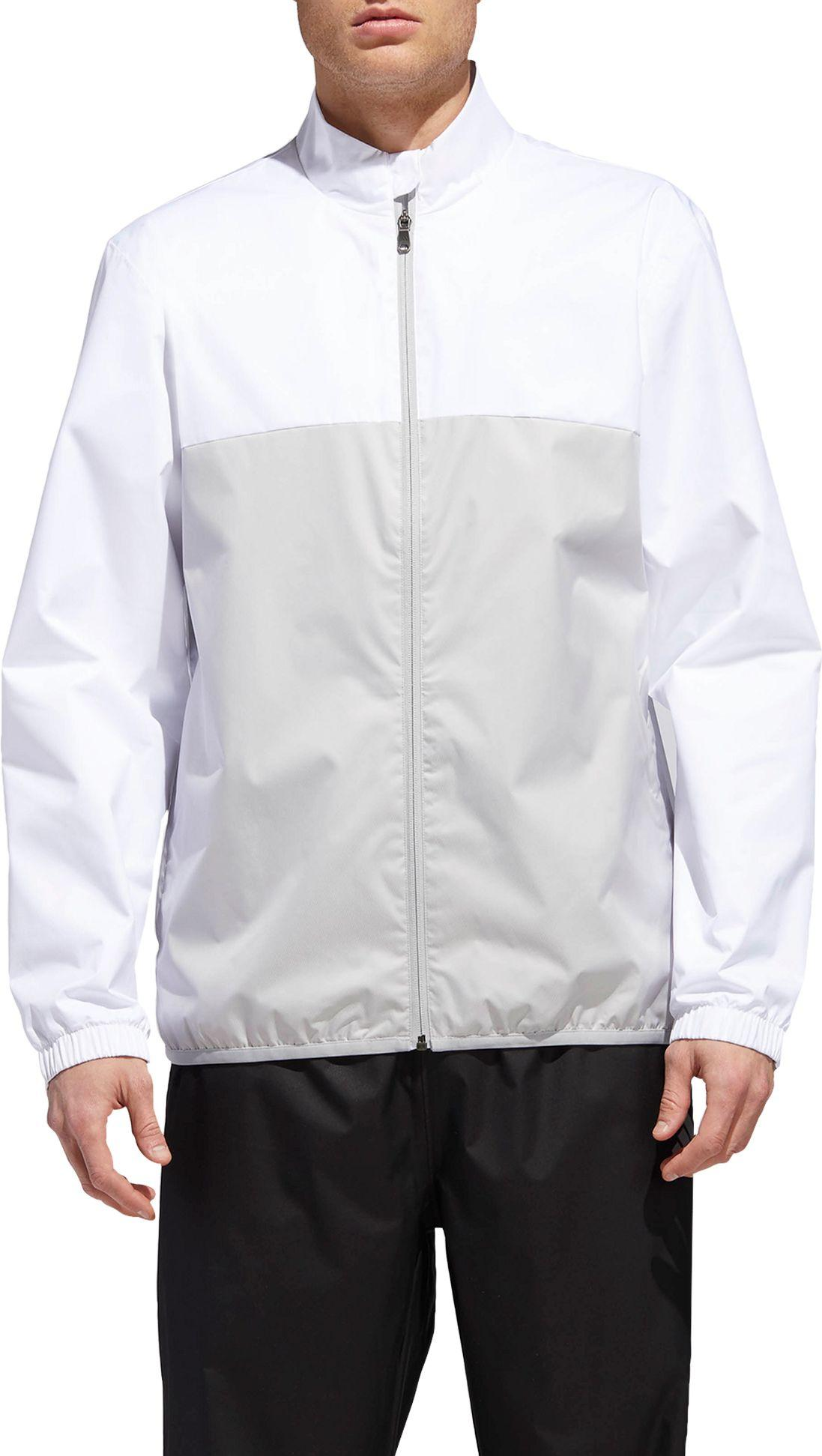 75867b4e05fd50 Lyst - adidas Climastorm Provisional Golf Rain Jacket in White for Men