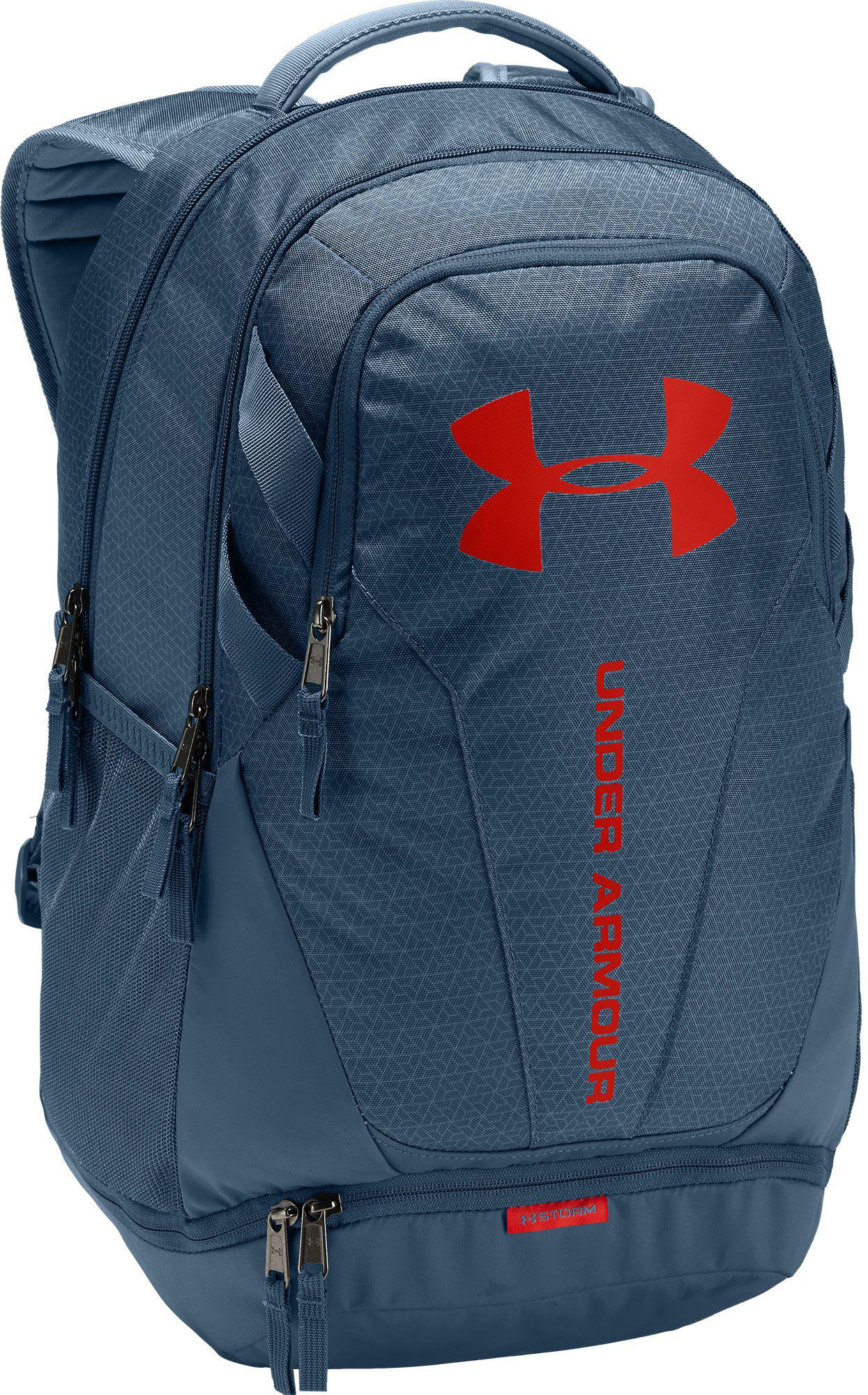 50efbd5e52d5 Lyst - Under Armour Hustle 3.0 Backpack in Blue