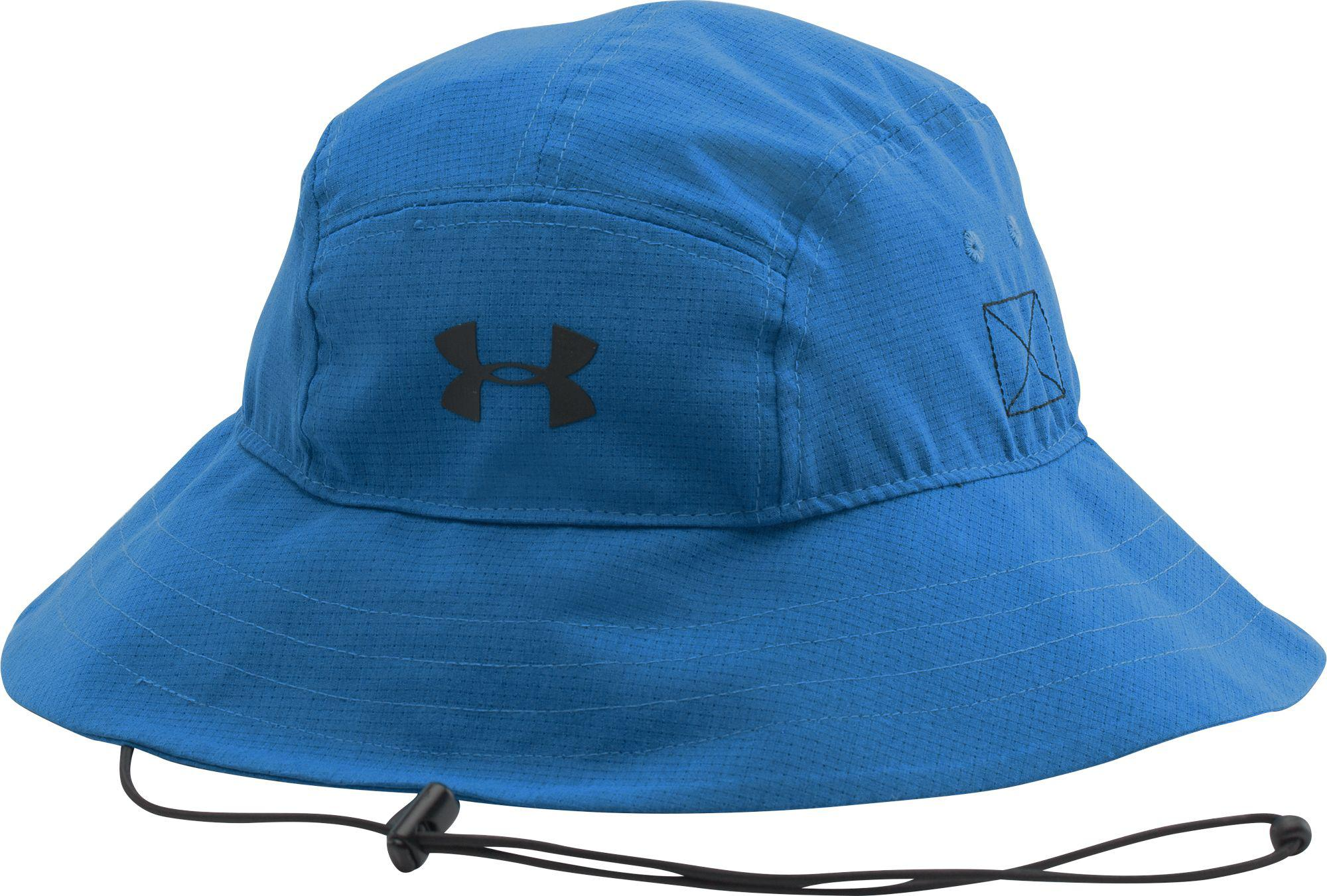 3a88de8f577f1 Lyst - Under Armour Airvent Bucket Hat in Blue for Men