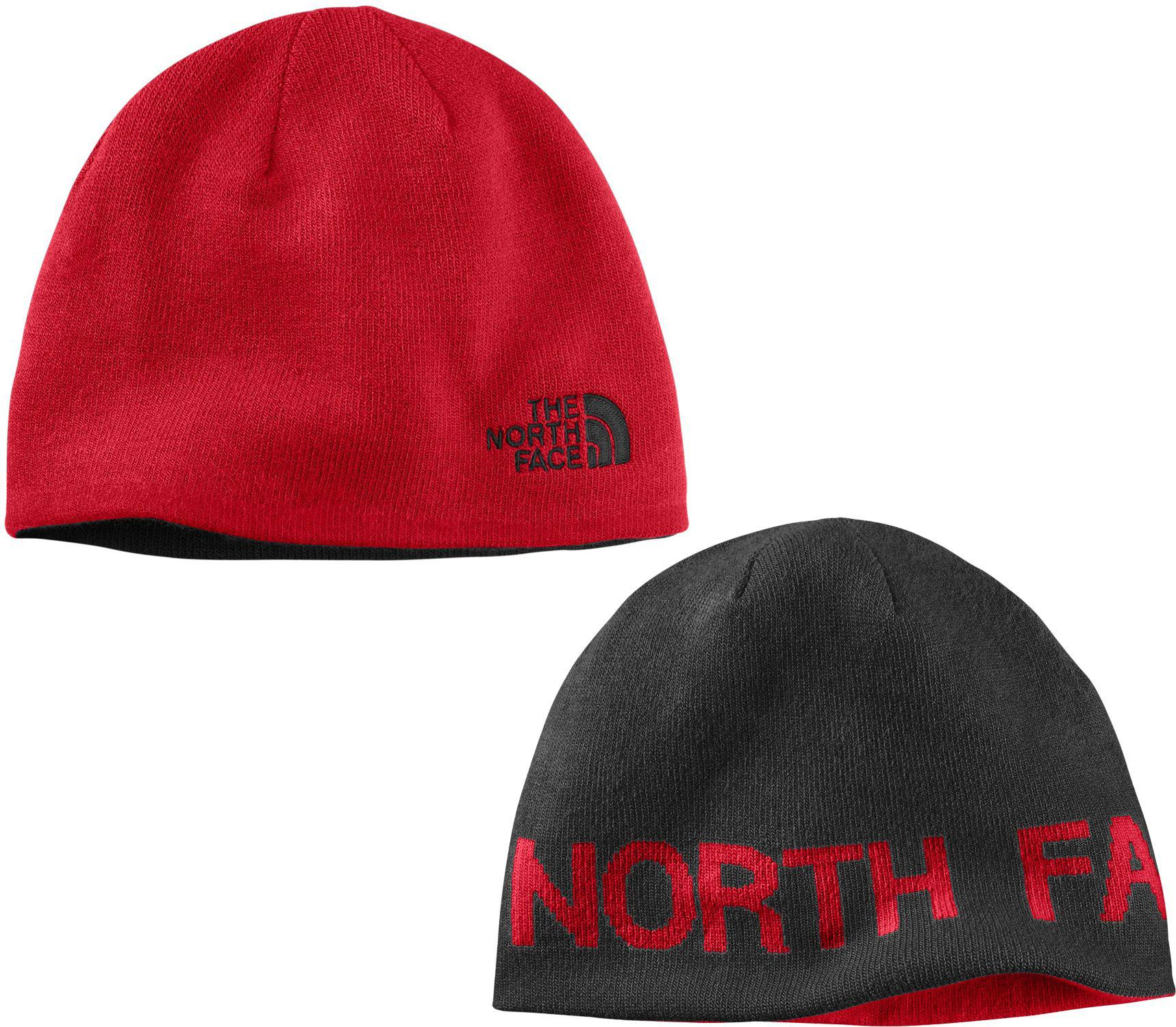 Lyst - The North Face Reversible Tnf Banner Beanie in Red for Men 38f21f8d978