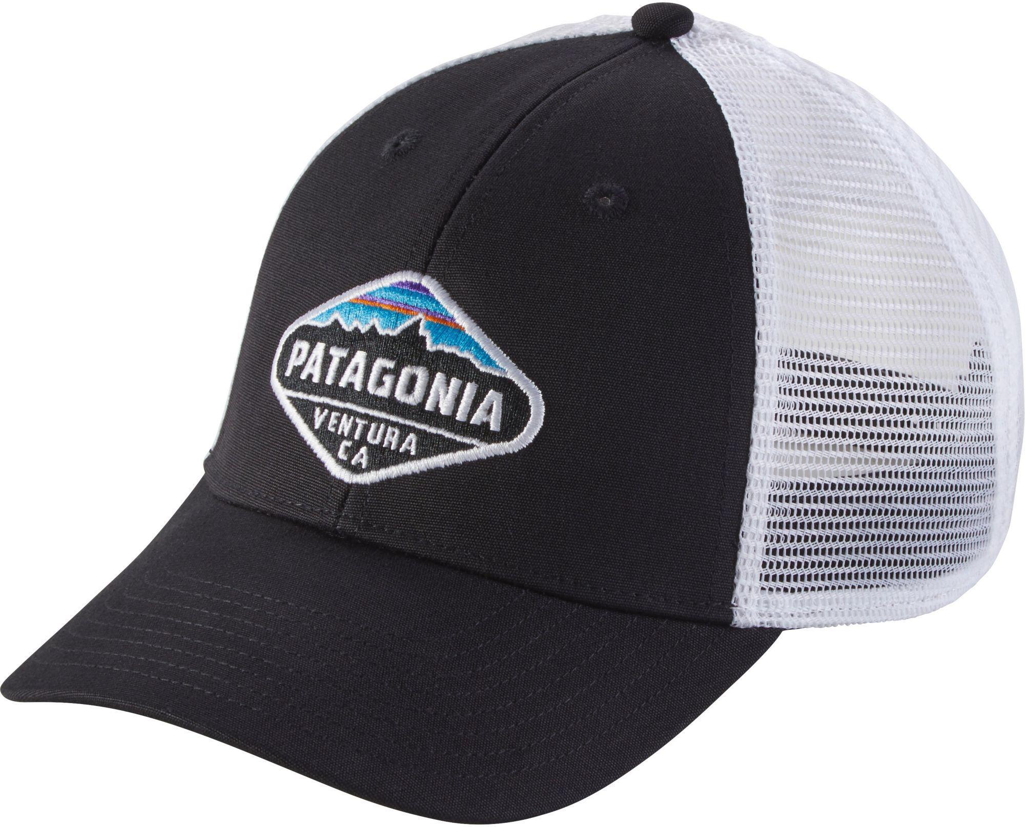 4b8834248dd Lyst - Patagonia Fitz Roy Crest Lopro Trucker Hat in Black for Men