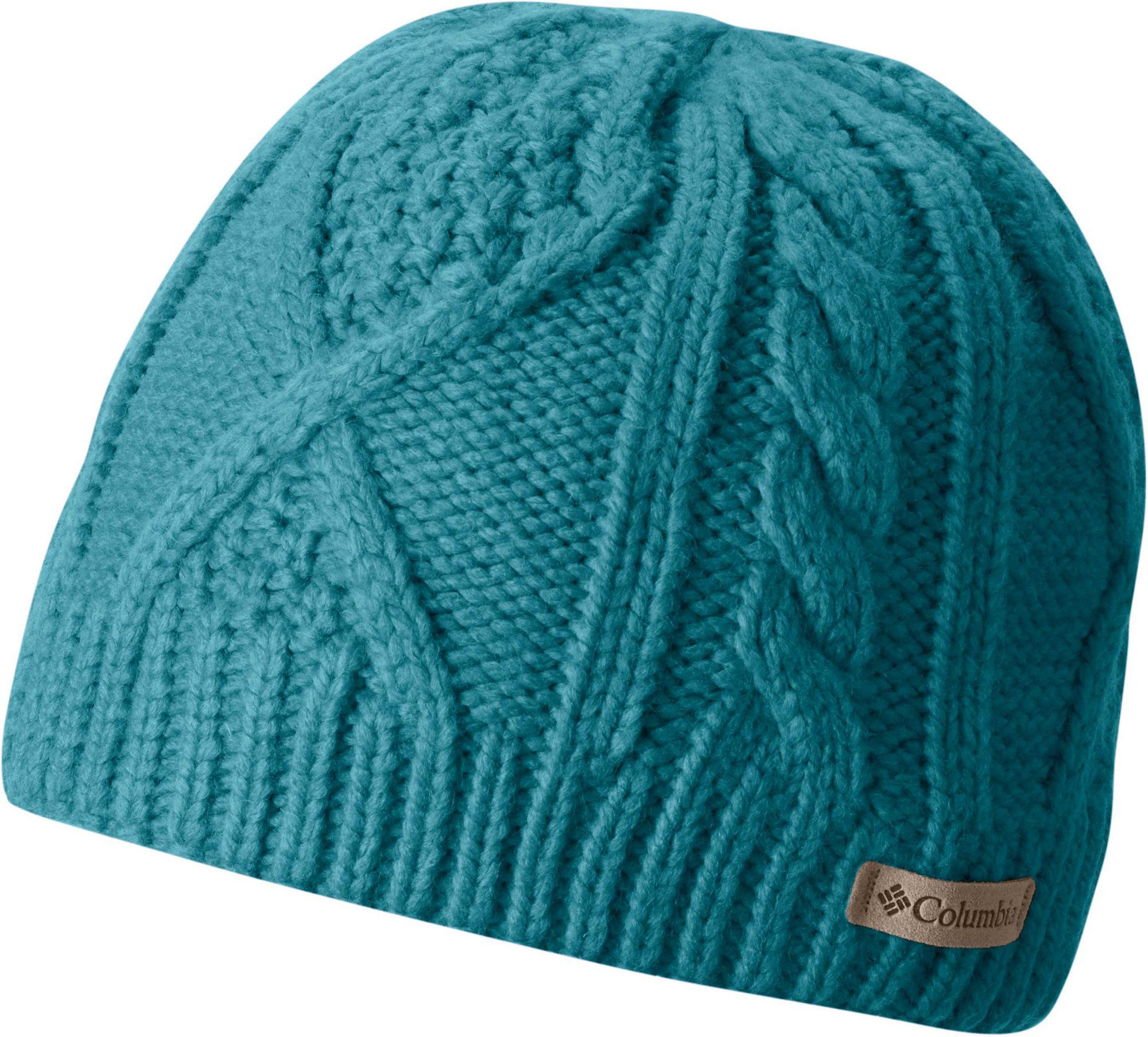 eb74cca54162f Lyst - Columbia Youth Cable Cutie Hat in Blue